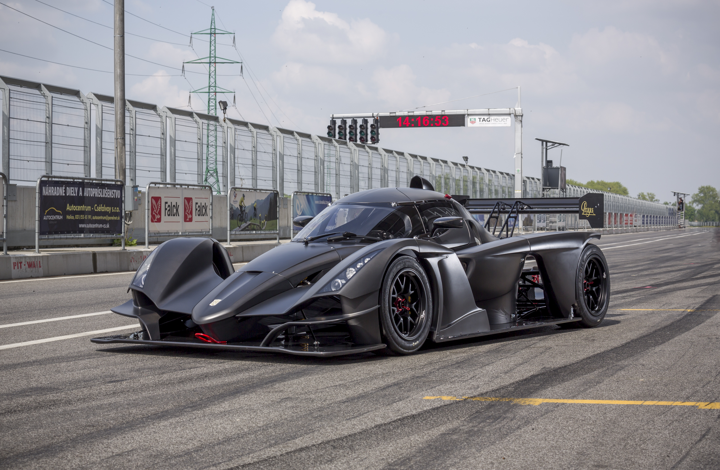 Praga Cars Started 2nd Production Series Of R1 S Race Cars