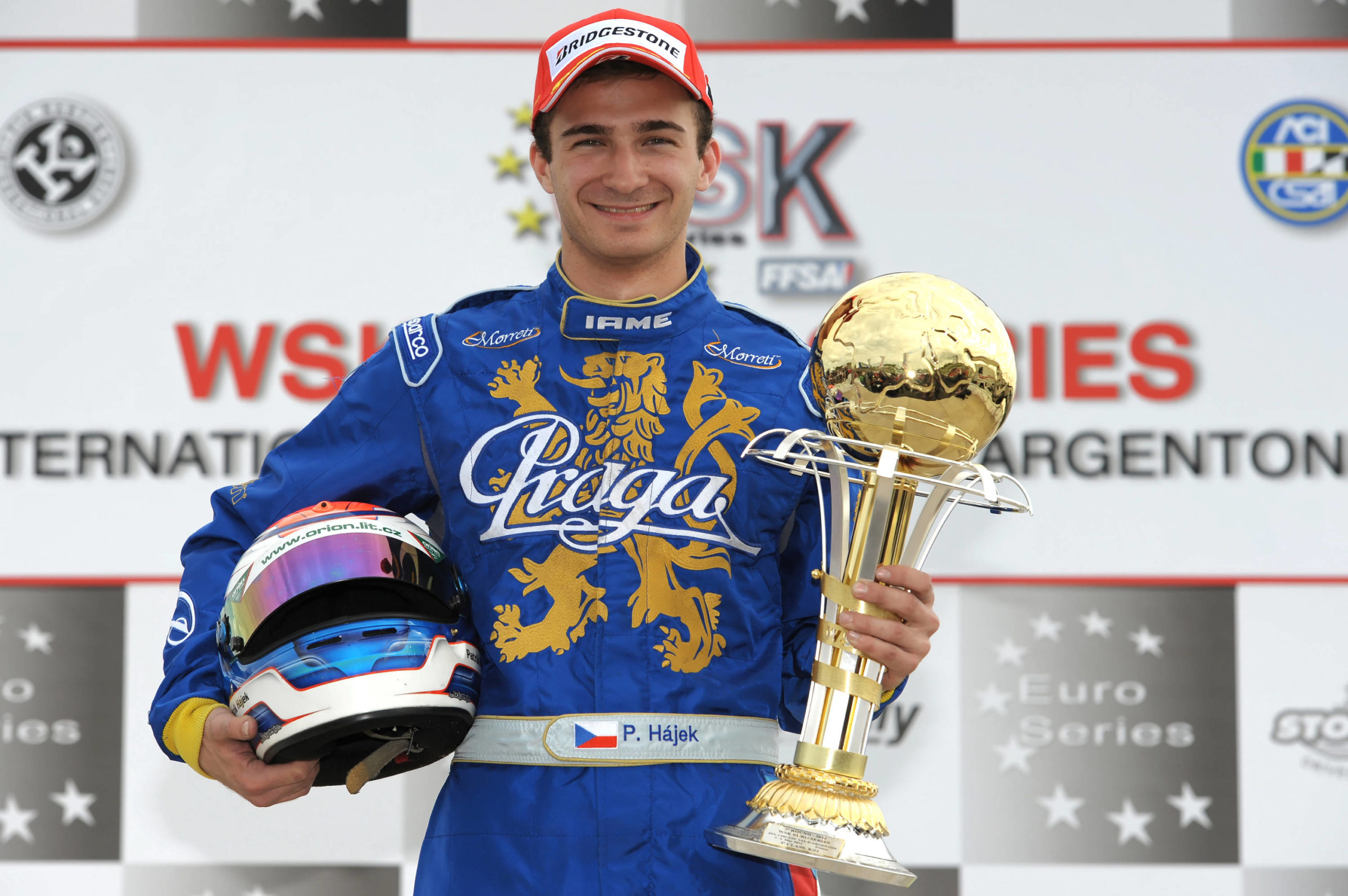 Great Podium for Praga at WSK Euro Series
