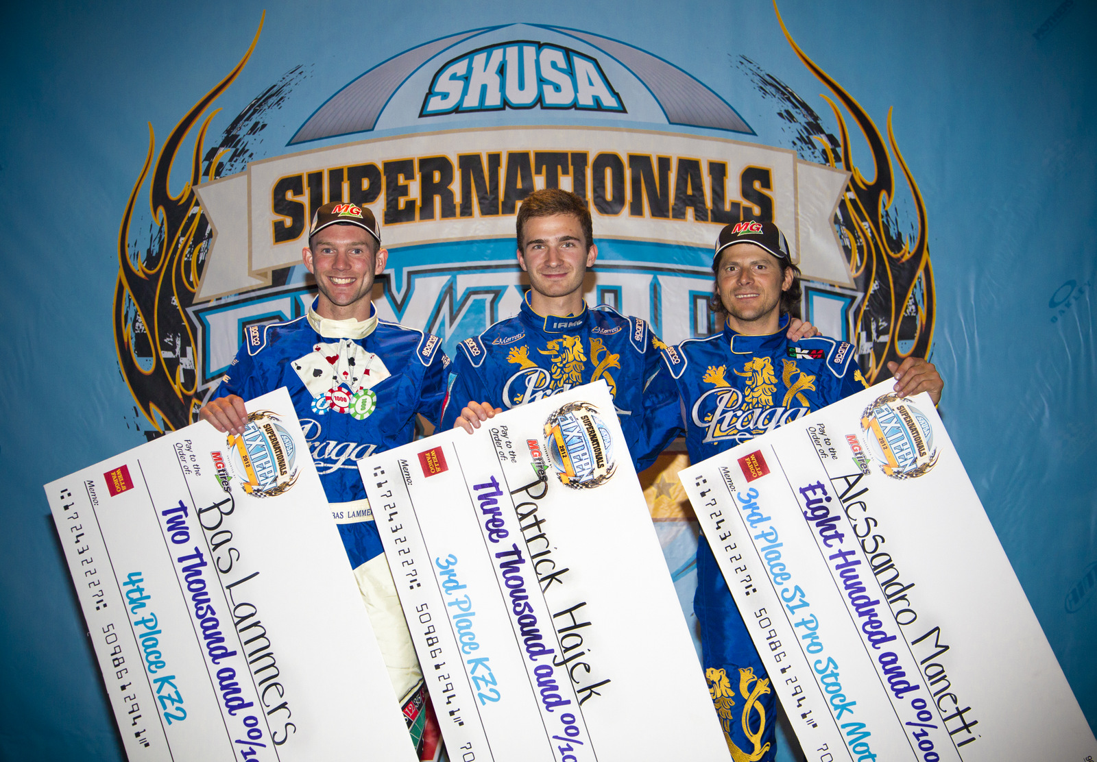 Multiple Podiums for Praga at 2012 Supernationals
