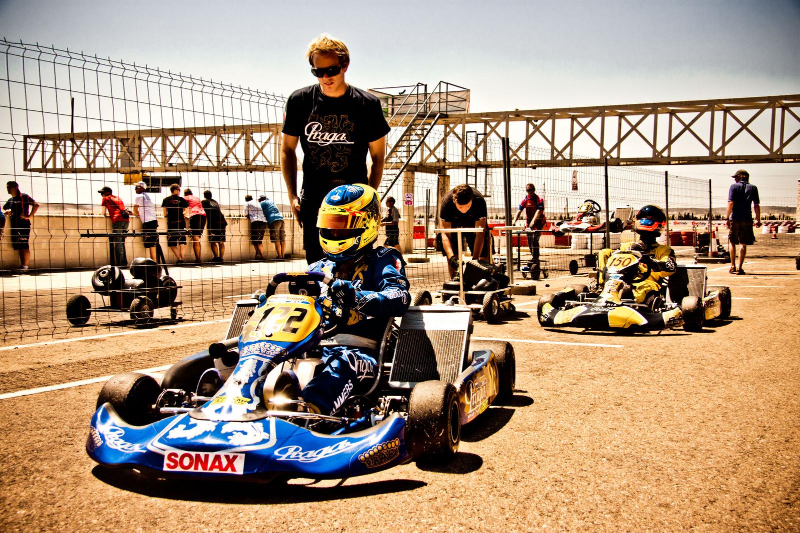 Josh Hart Racing The New Team in Rotax Challenge
