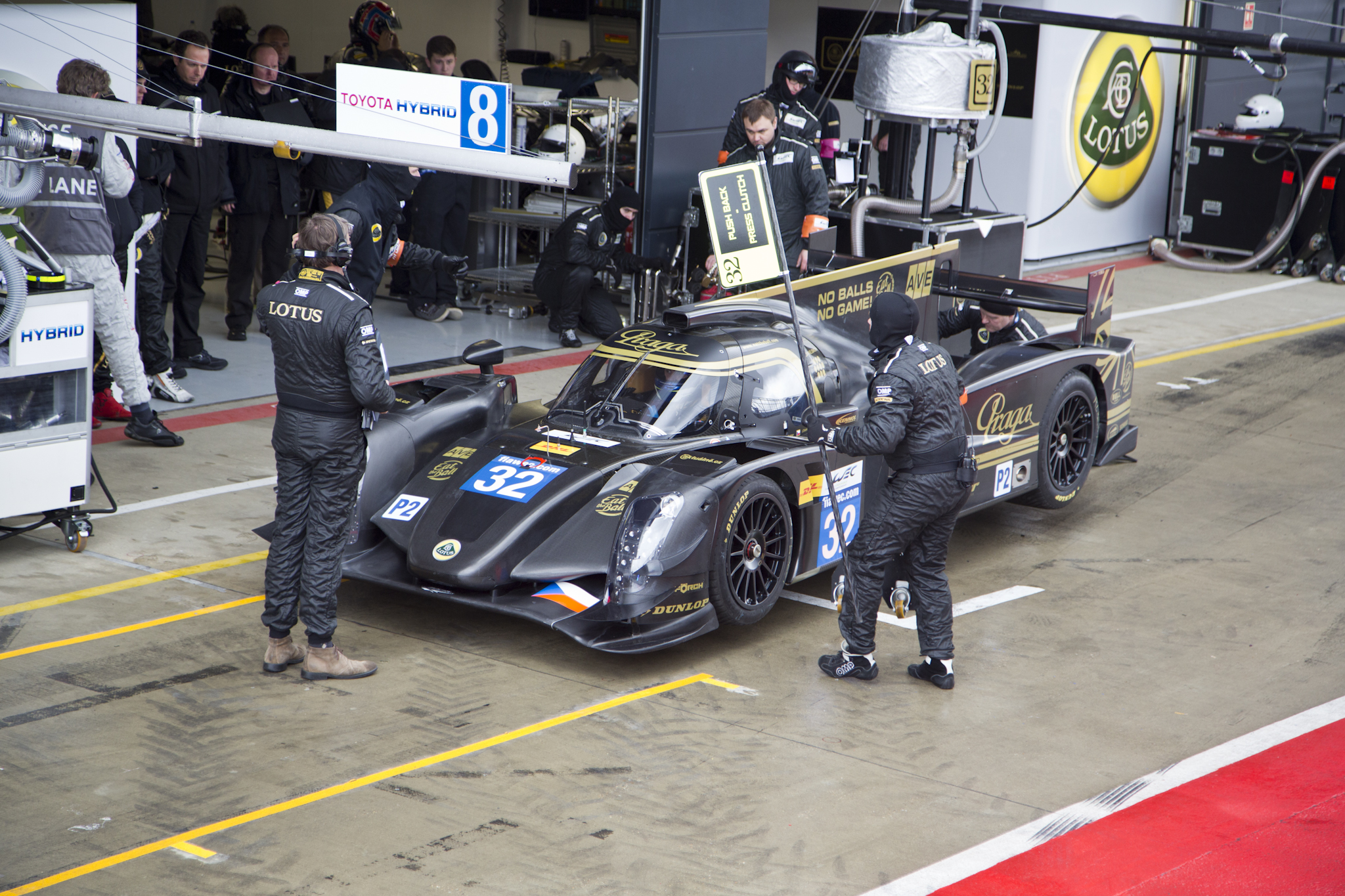 Praga Partners with Lotus for World Endurance Championship