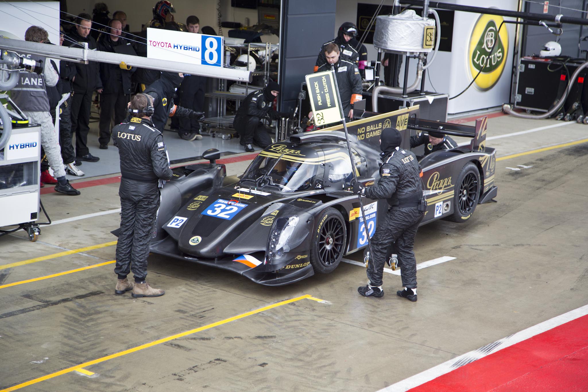 Praga Partners with Lotus for World Endurance Championship