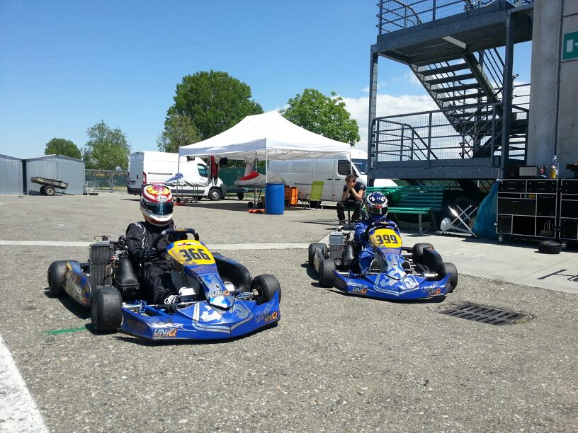Praga Kart Racing in Top 10 at Rotax Euro Challenge