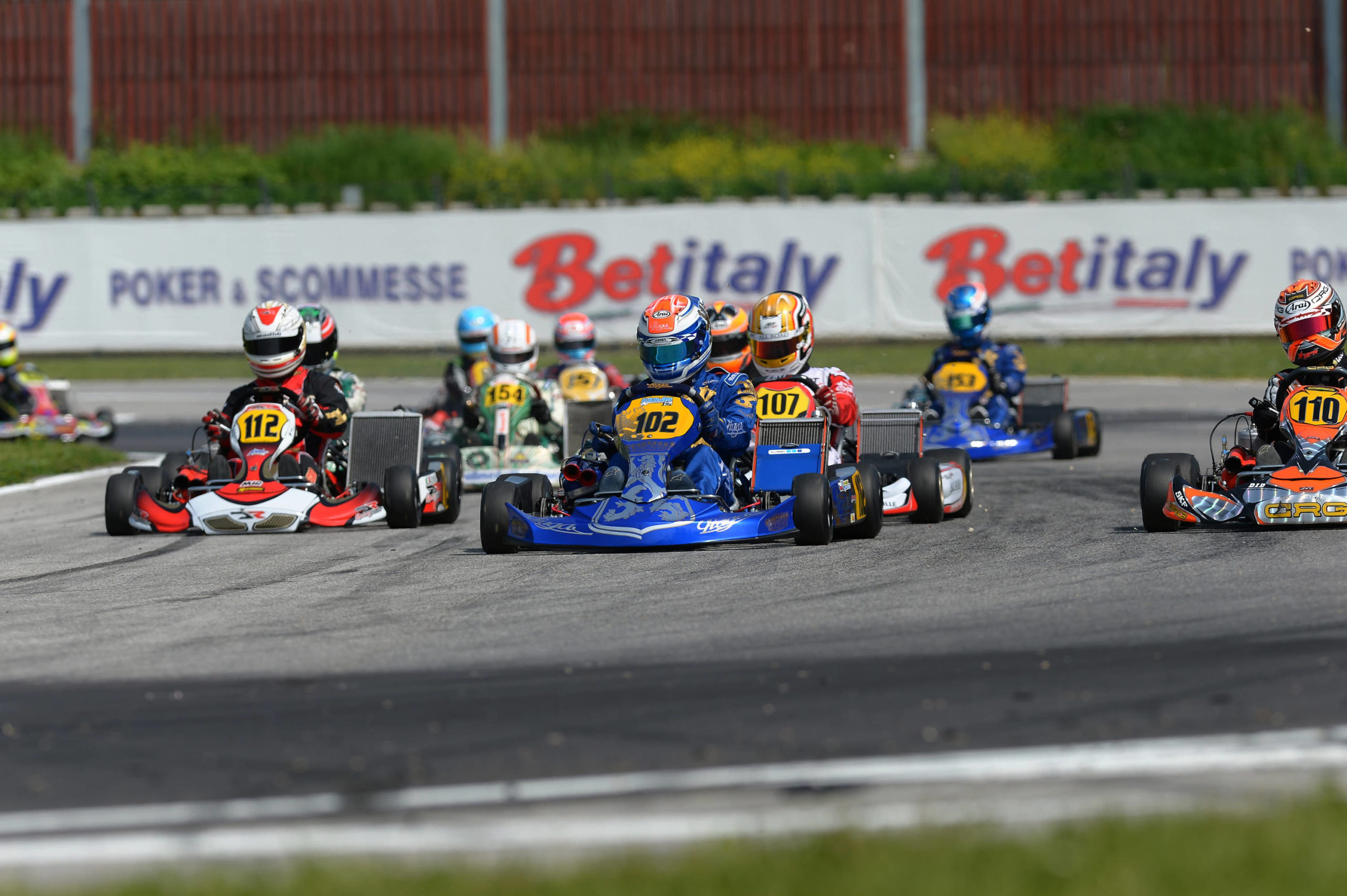 WIN AND PODIUM FOR PRAGA IN KZ2 AT THE WSK MASTER SERIES