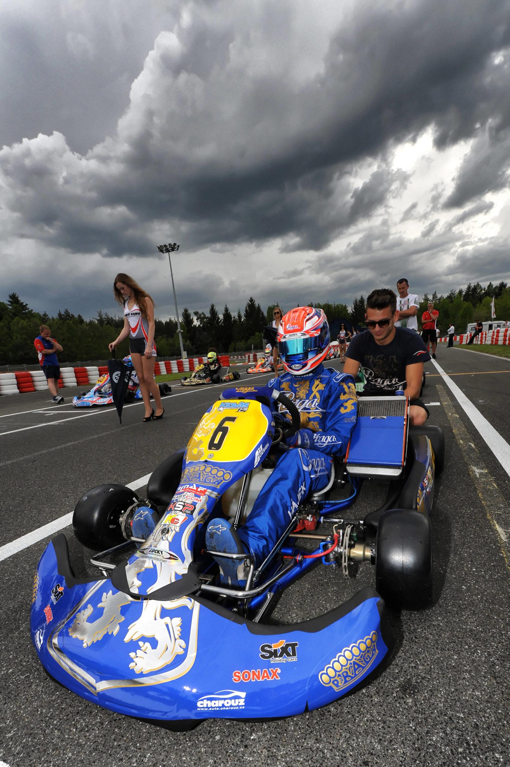 PRAGA In Top 10 at CIK-FIA European