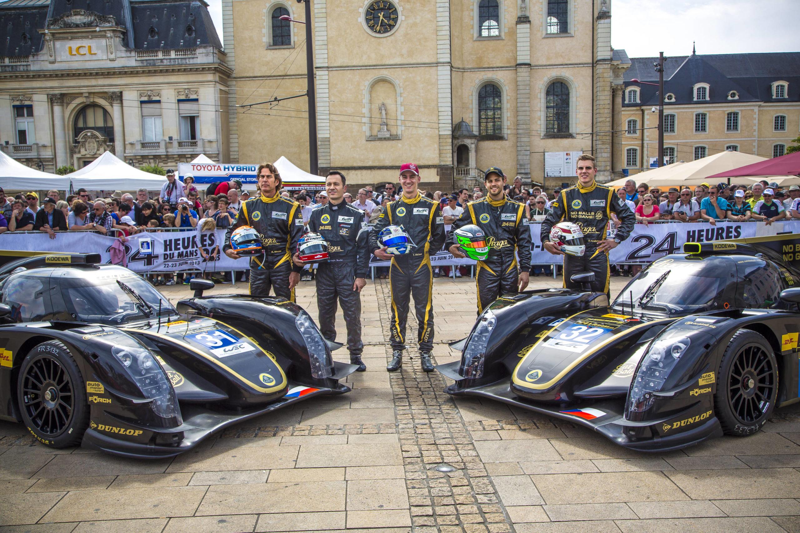Praga at 24H Le Mans: Tuesday