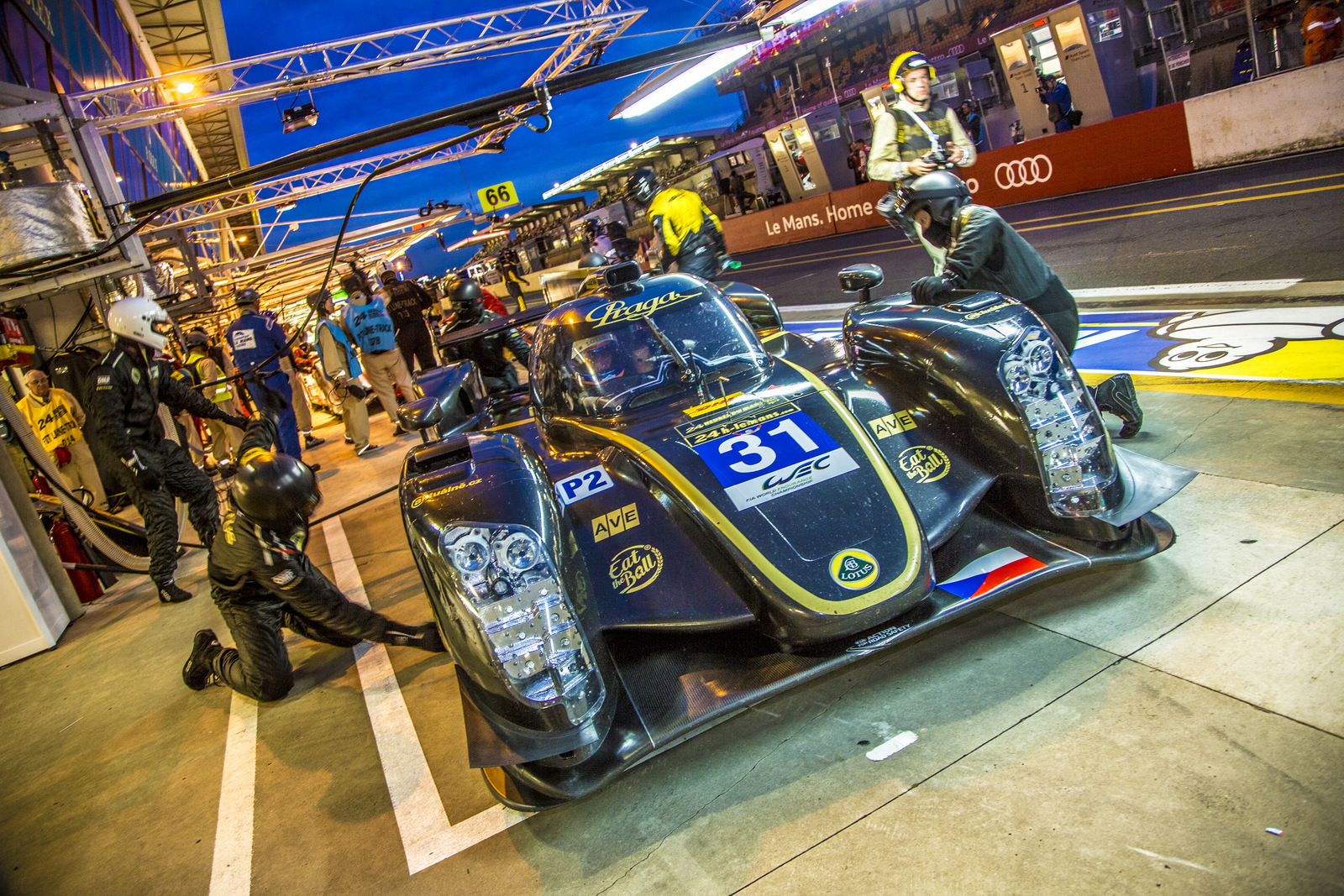 Praga at 24H Le Mans: Wednesday