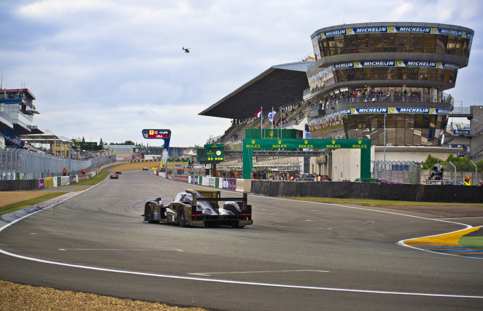 Praga at 24H Le Mans: Race Day