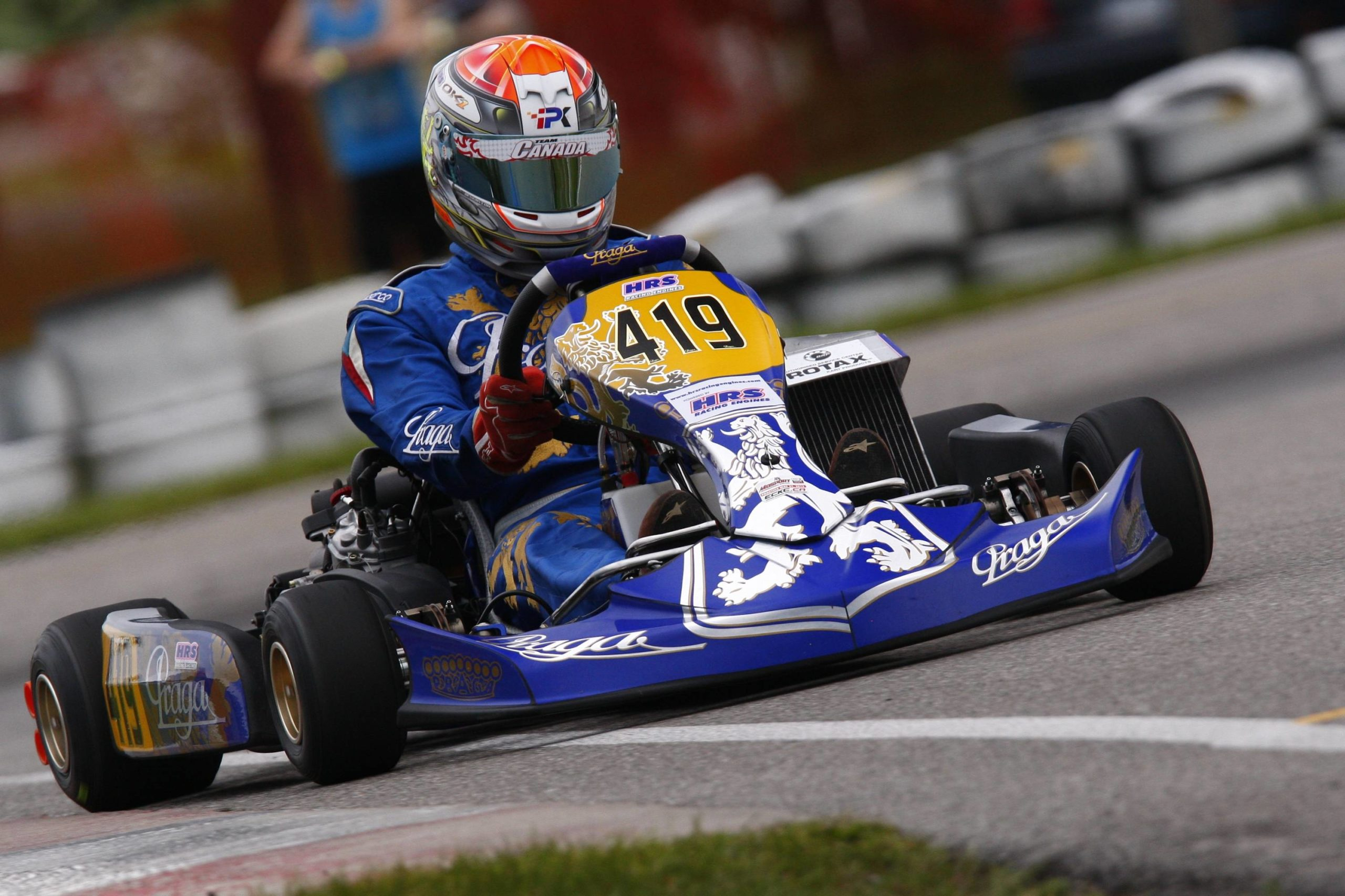 Outstanding Performance for Praga at ECKC Opener