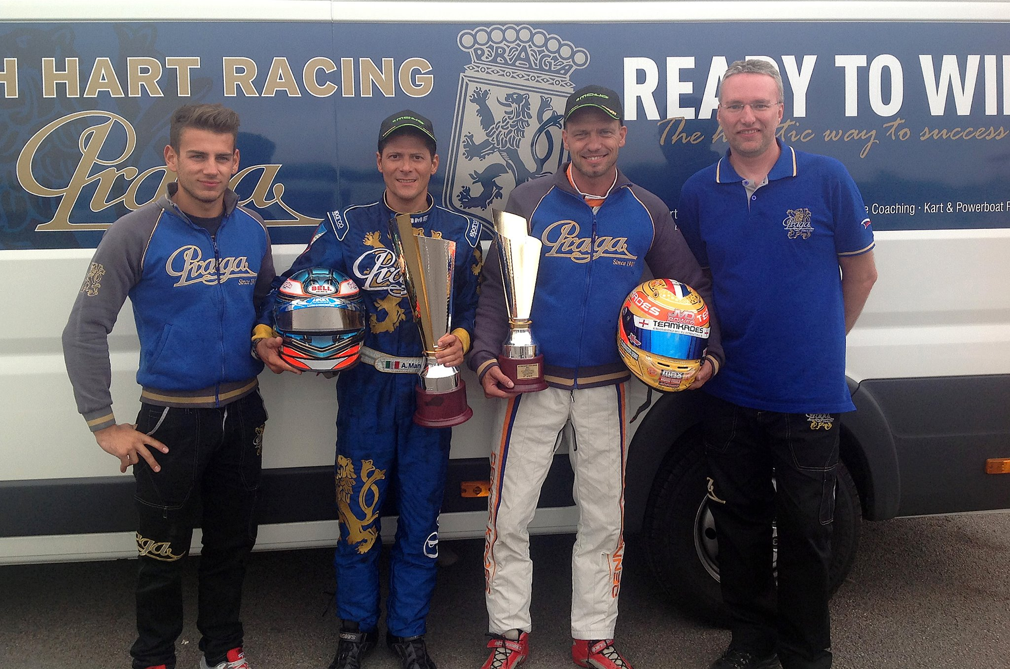 Alessandro Manetti wins again on Praga at Rotax Max Euro Challenge