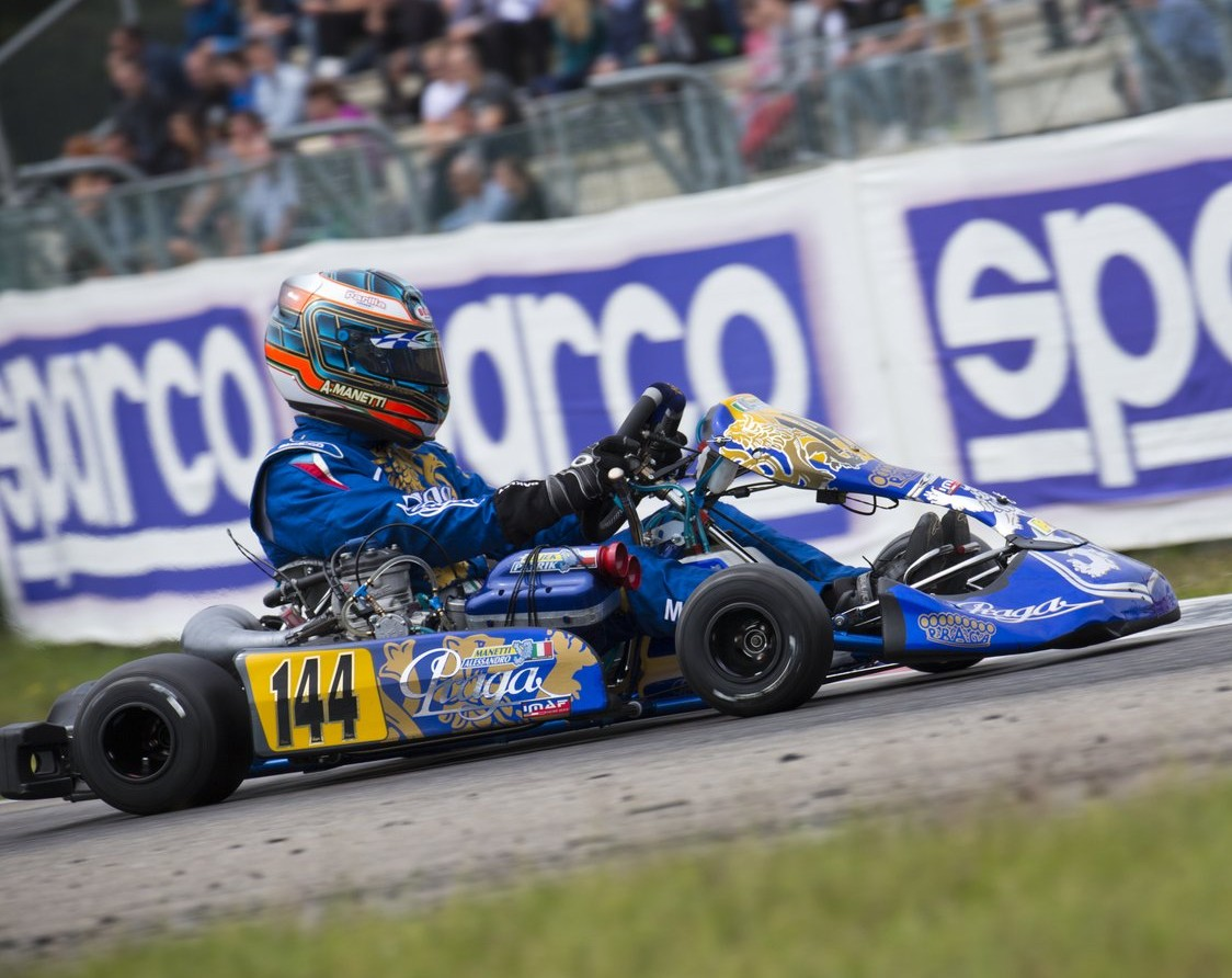 PRAGA IN TOP 10 OF CIK-FIA EUROPEAN WITH MANETTI