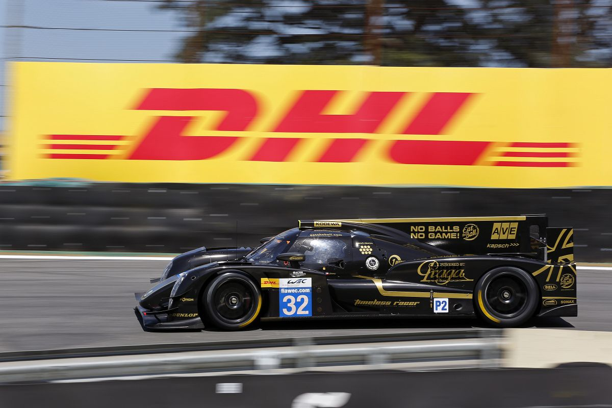 Lotus Praga LMP2 at the 6 Hours of Sao Paulo