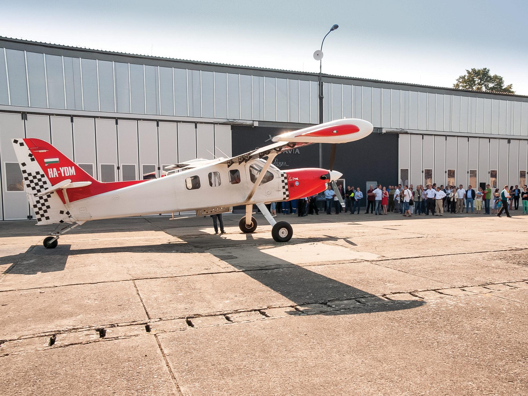 Orbis Avia SM-92T(E) Praga Alfa production facility was opened