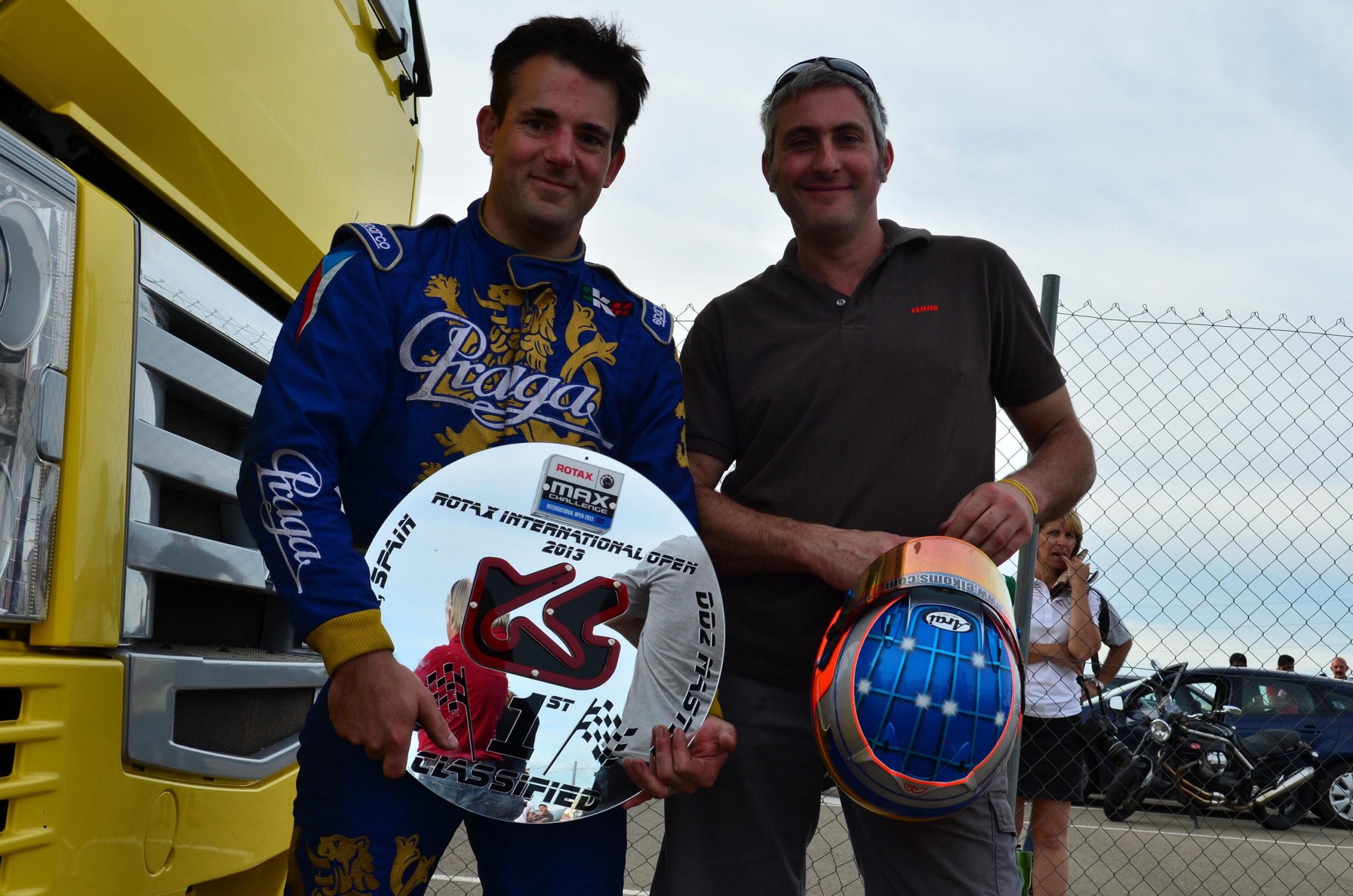 Praga wins DD2 Masters at Rotax Int. Open Zuera 2013