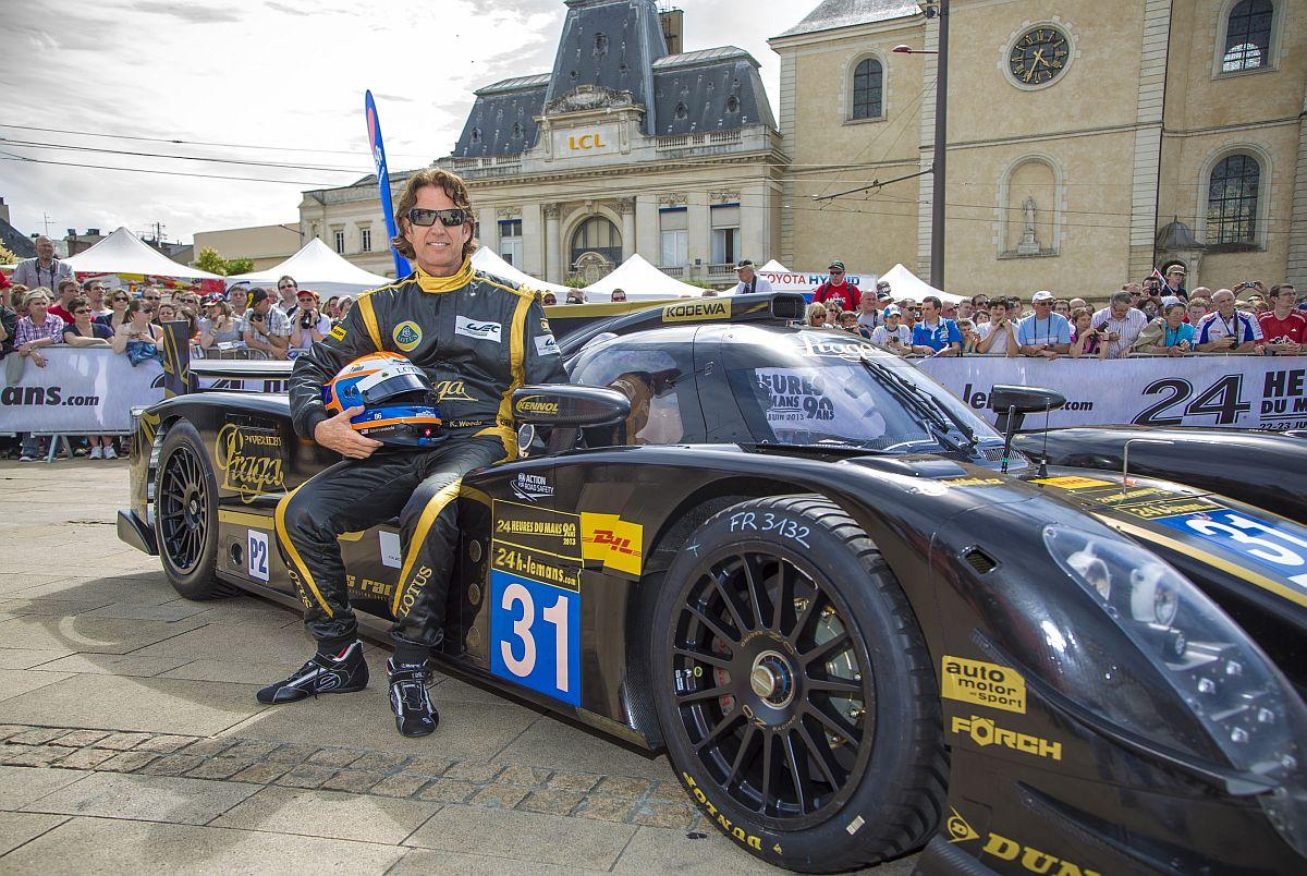Lotus Praga LMP2 Inside: Kevin Weeda