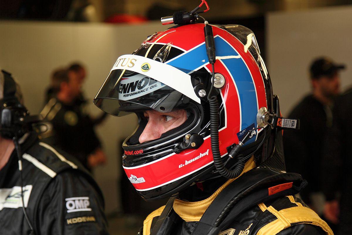 Lotus Praga LMP2 Inside: Christophe Bouchut