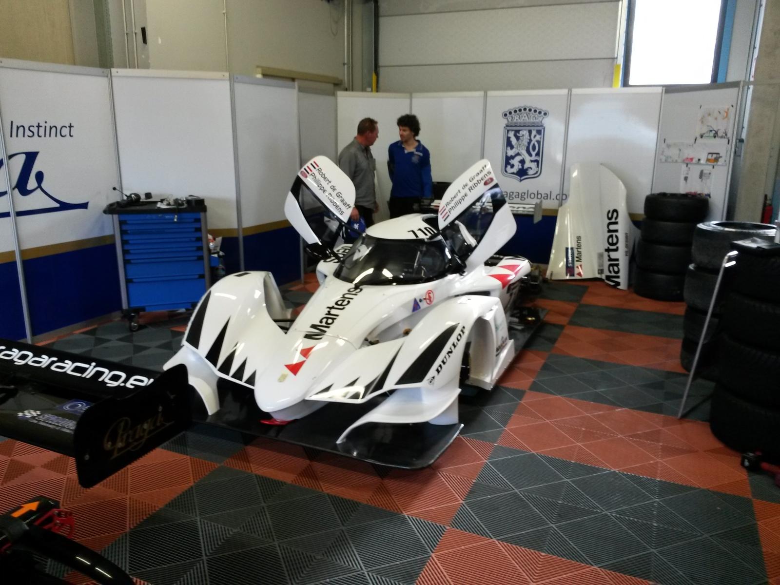 Praga R1 turbo got it's first pole position in Assen
