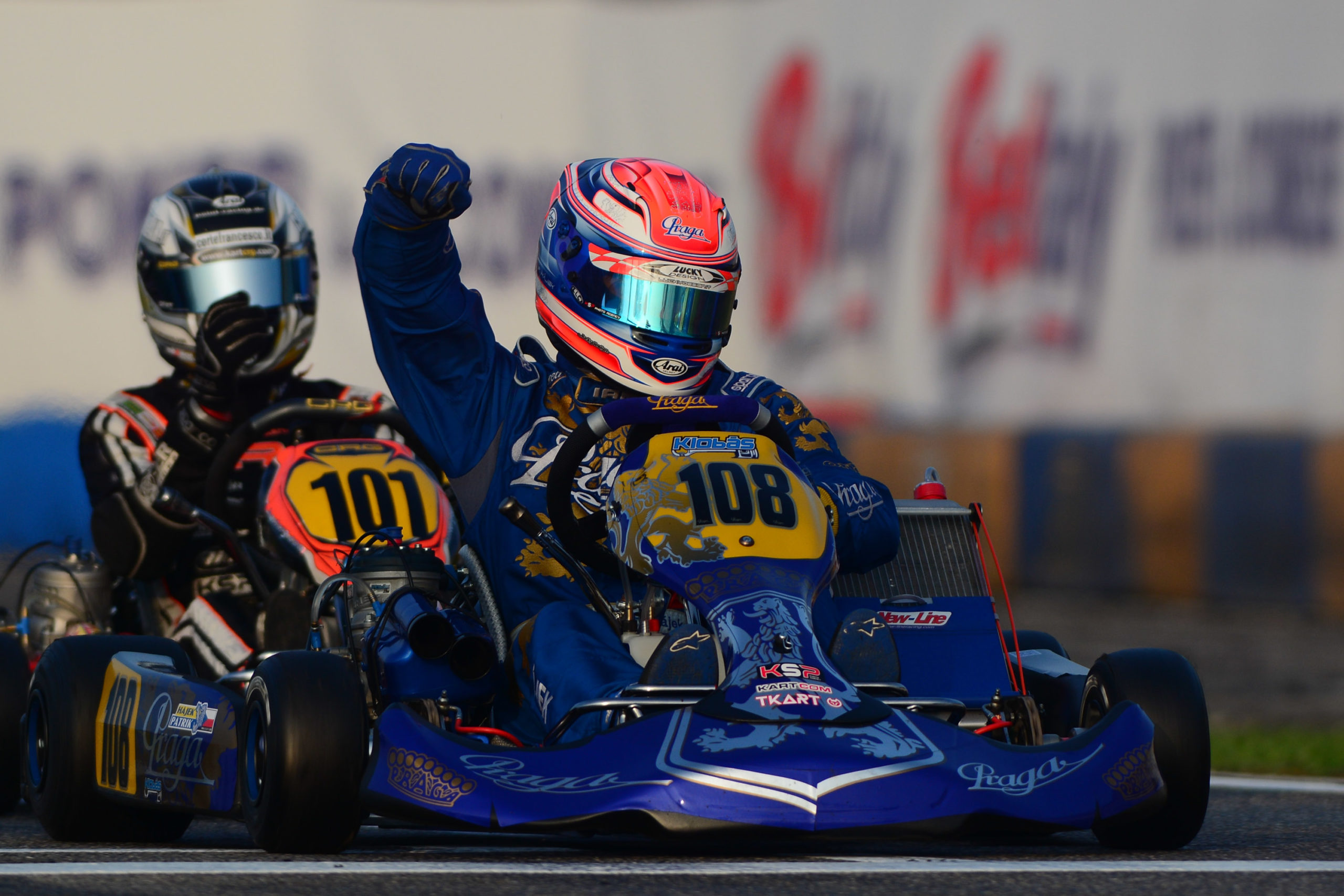 PRAGA KART RACING WINS IN KZ2