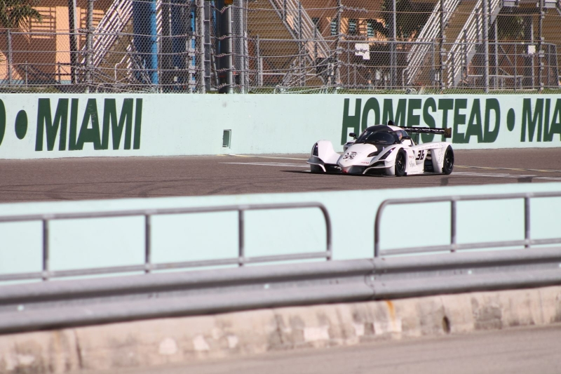 First-ever victory for turbocharged Praga R1 came in Florida