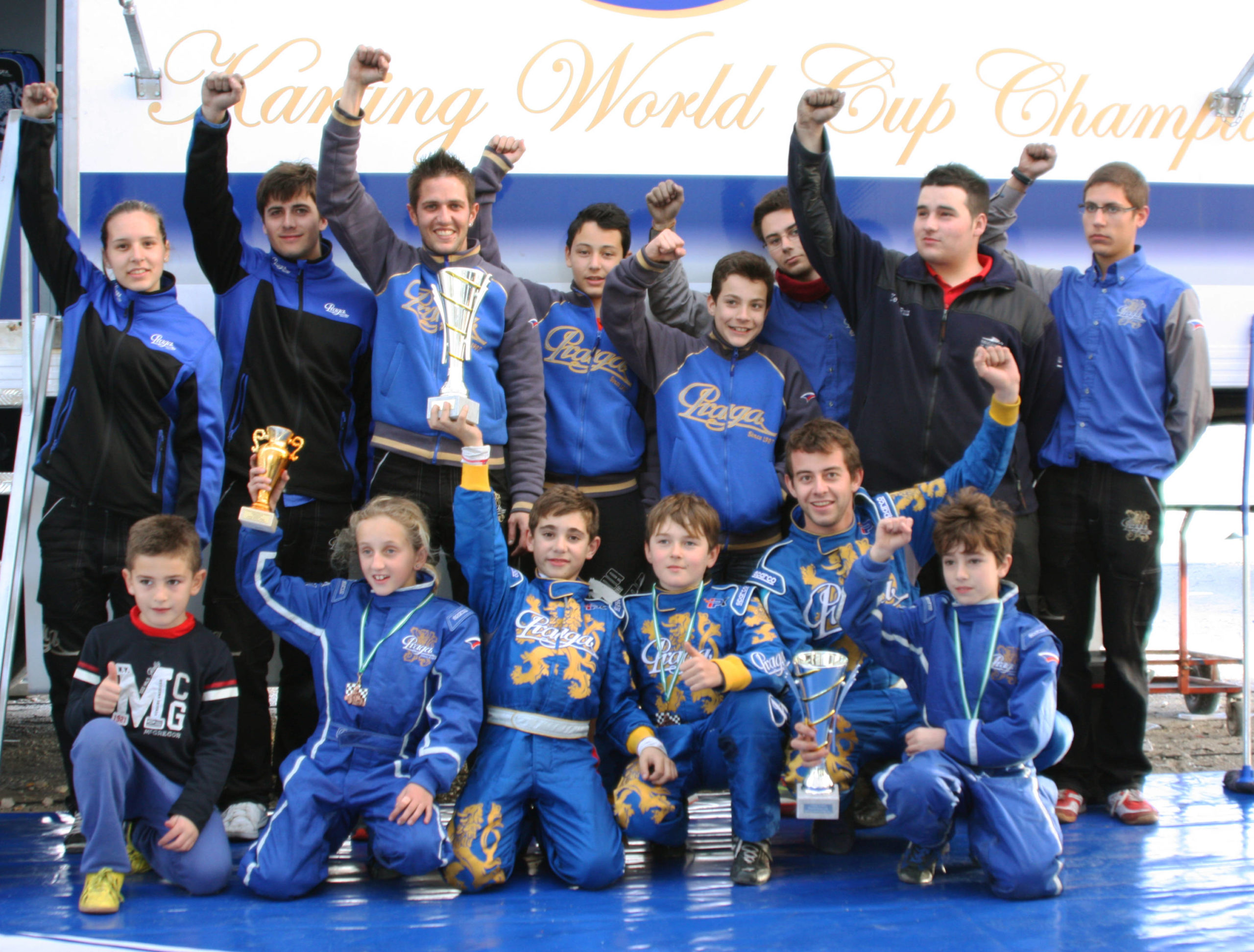 Praga won 2 out of 4 categories at Winter Cup Andalucia
