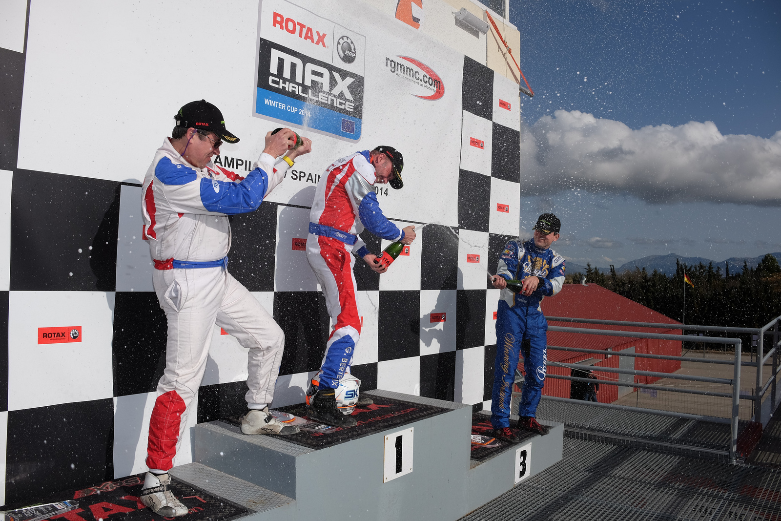 First race, first podium for Rotax Praga Kart Racing