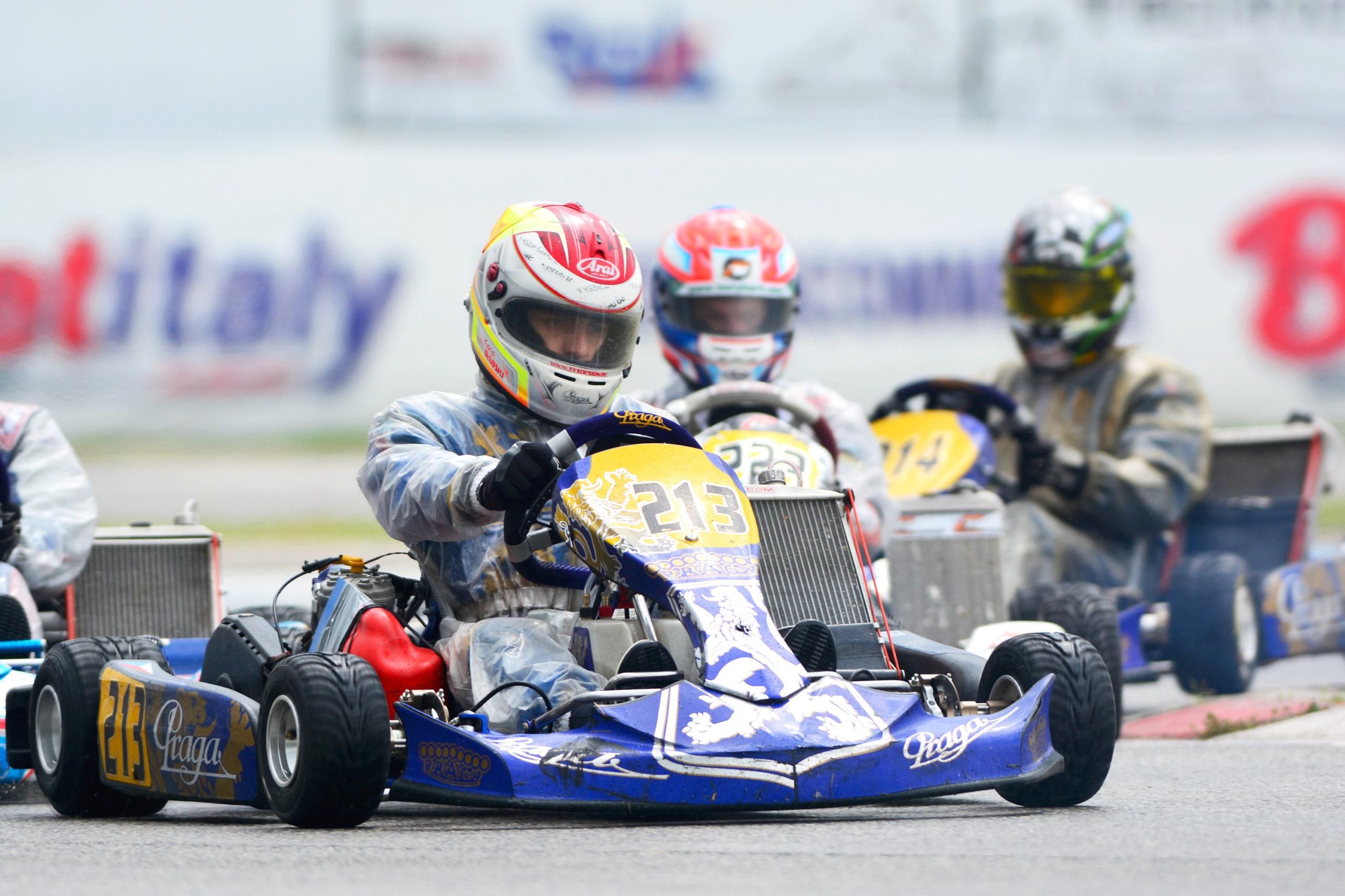 Praga Kart Racing almost at a podium