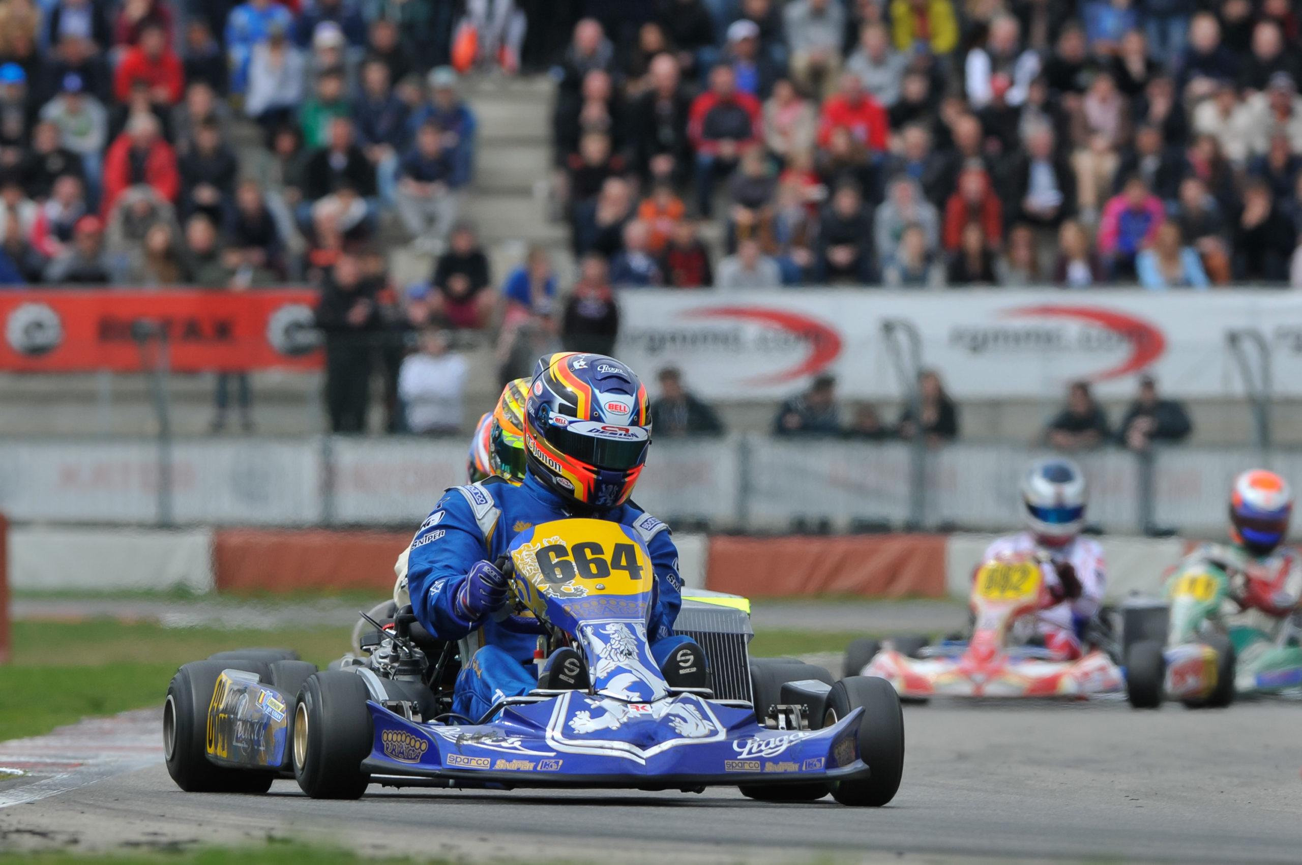 Praga gets podium in Rotax Euro Challenge