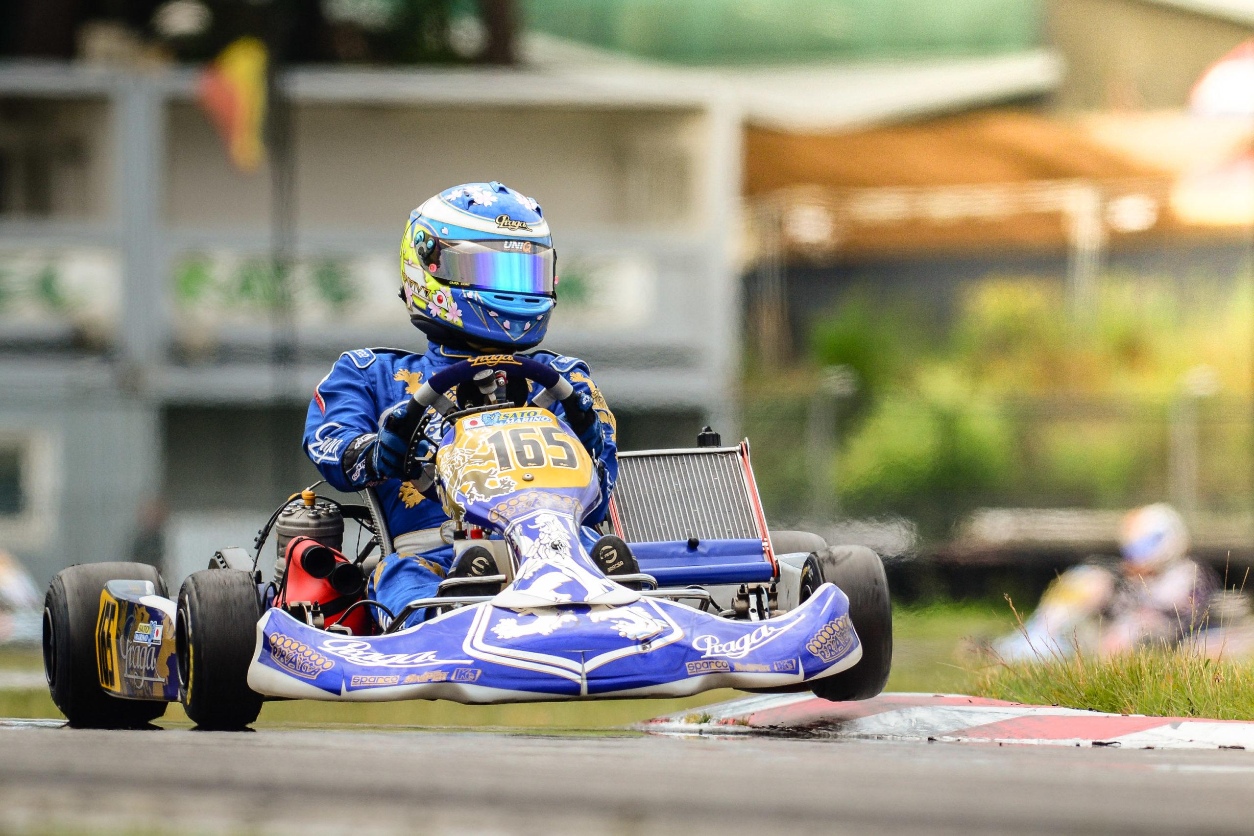 Unfortunate weekend for Praga Kart Racing