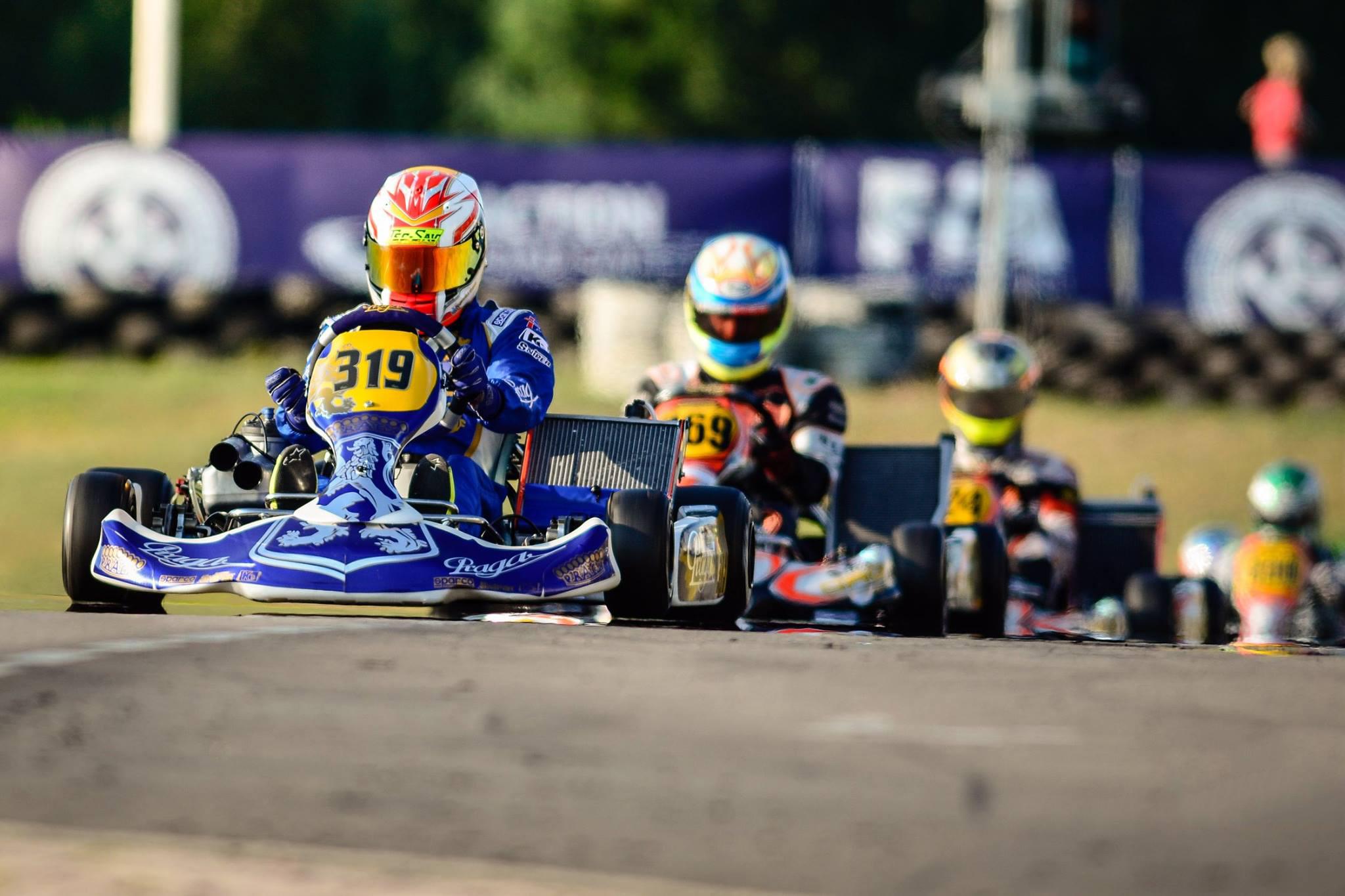 Praga Kart Racing reached podium in Sweden
