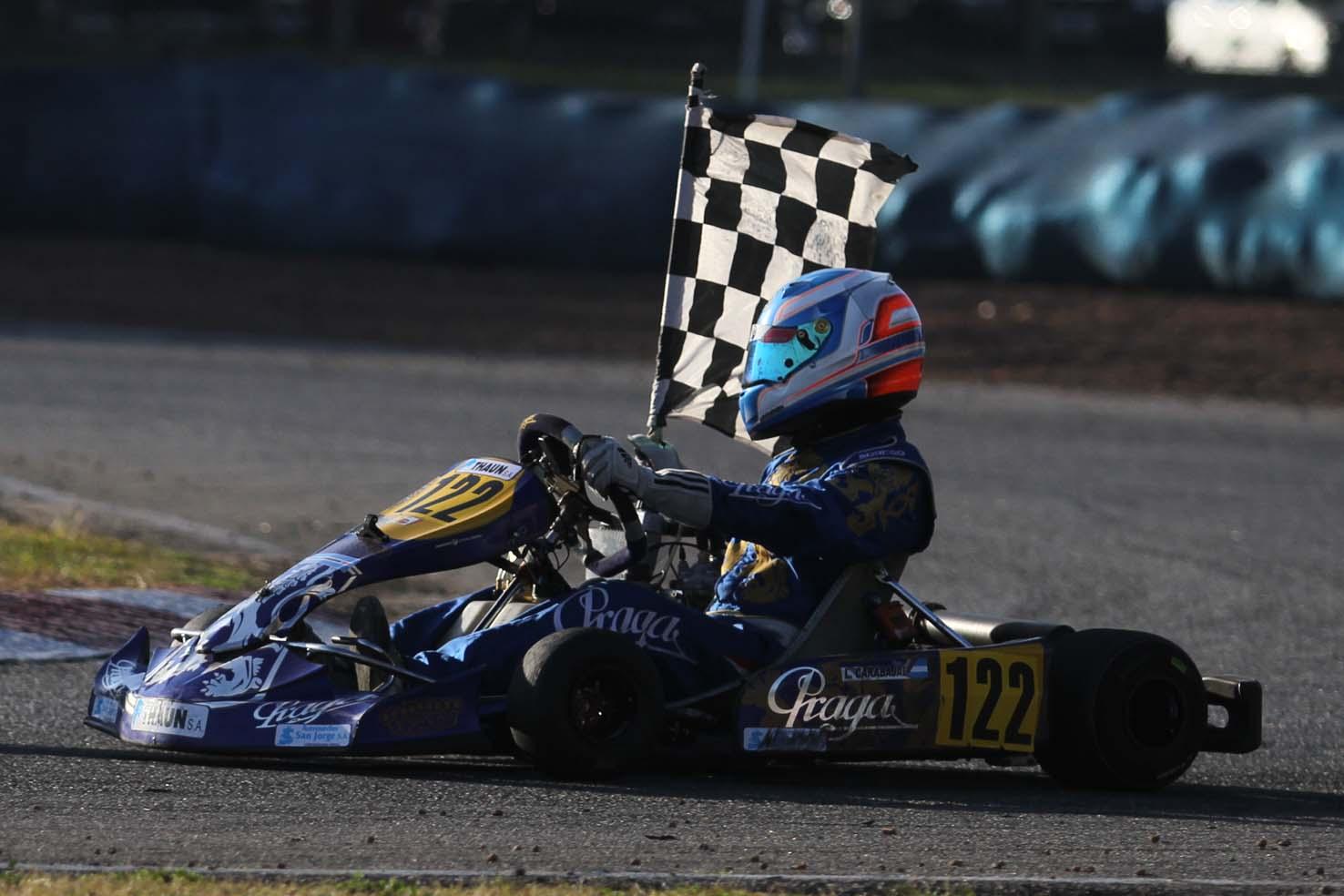 Praga Argentina won in 3 categories , PRE-SUDAMERICANO ROTAX :