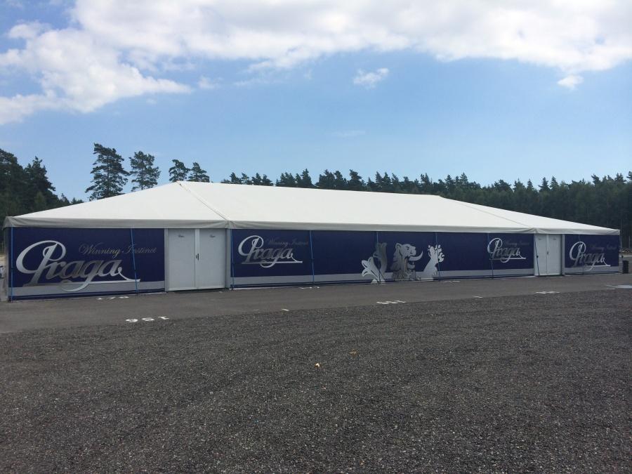 Praga Kart Racing after the test in Sweden