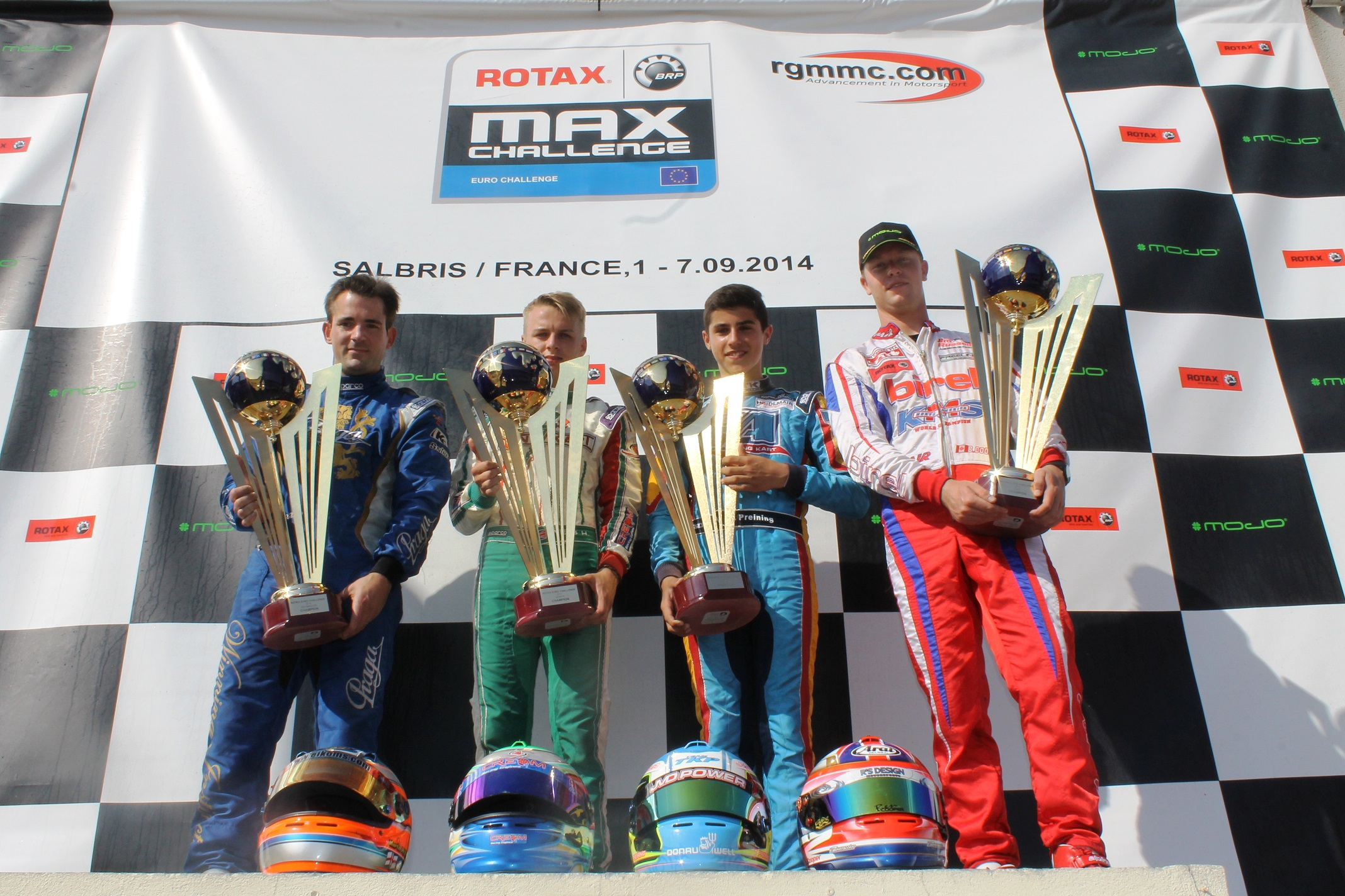 European title for Rotax Praga Kart Racing