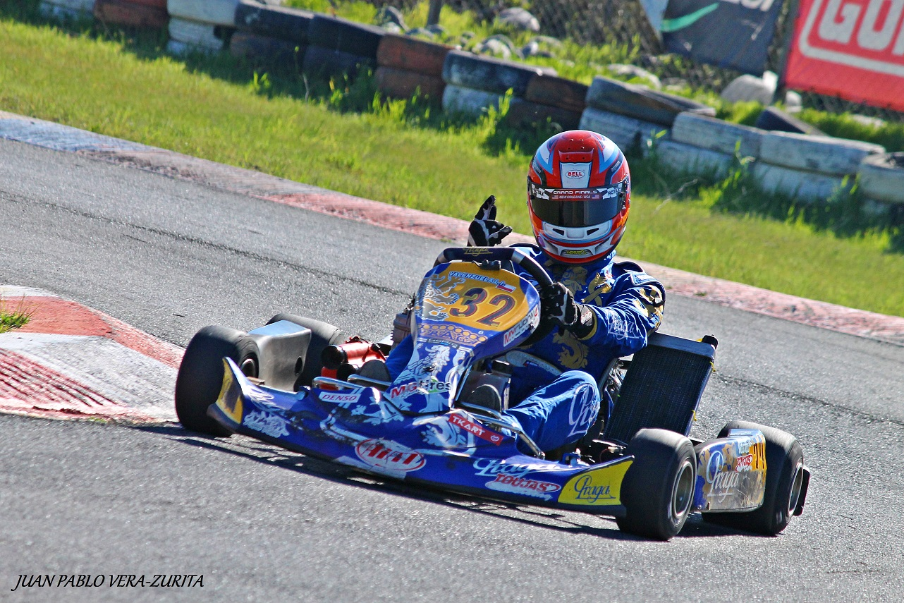 Last IAME round before Le Mans