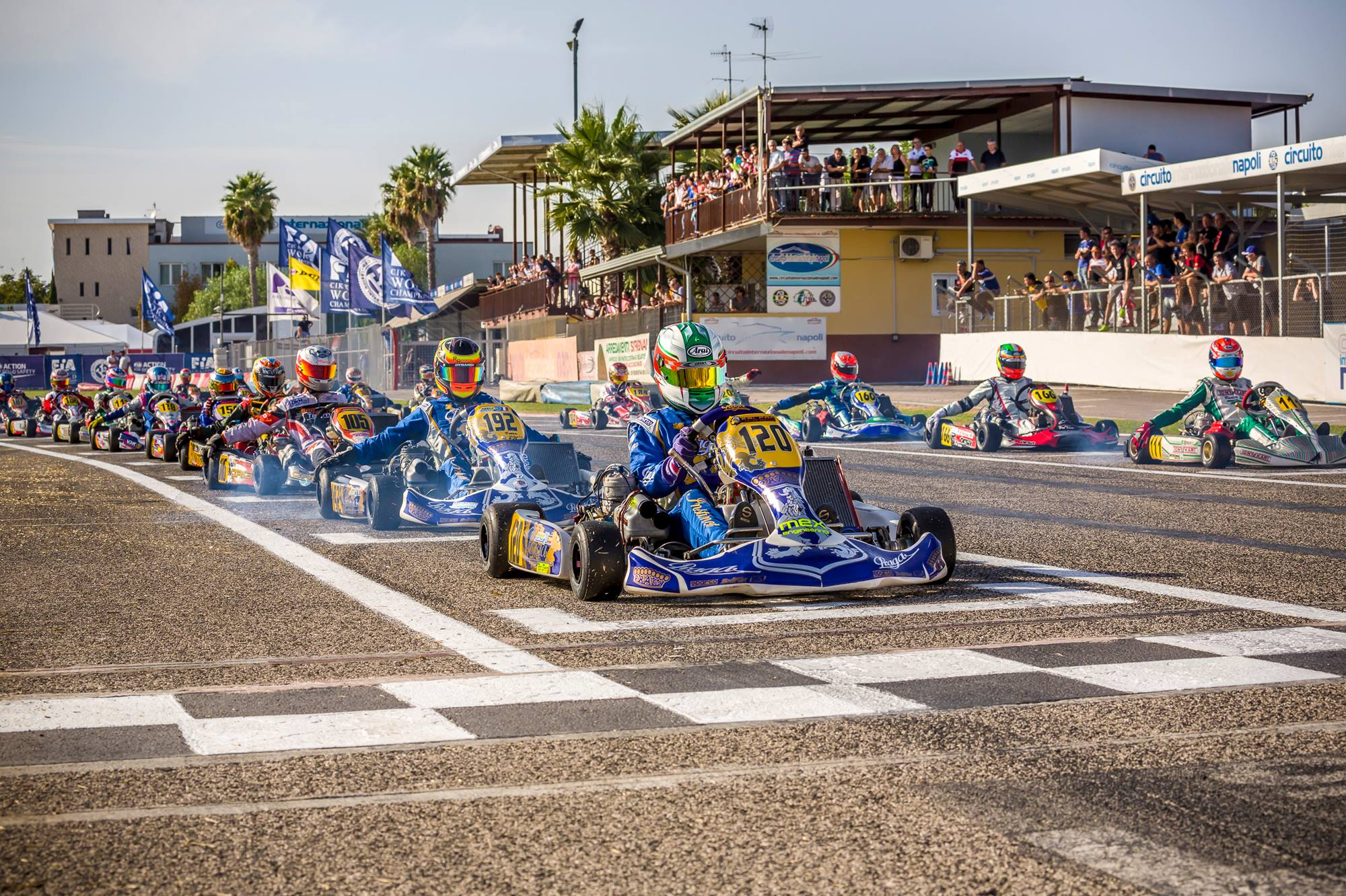 3 drives in the top 10 of CIK FIA World Championship