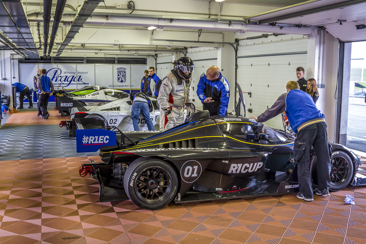 The R1 Endurance Cup was officially launched at Slovakia Ring