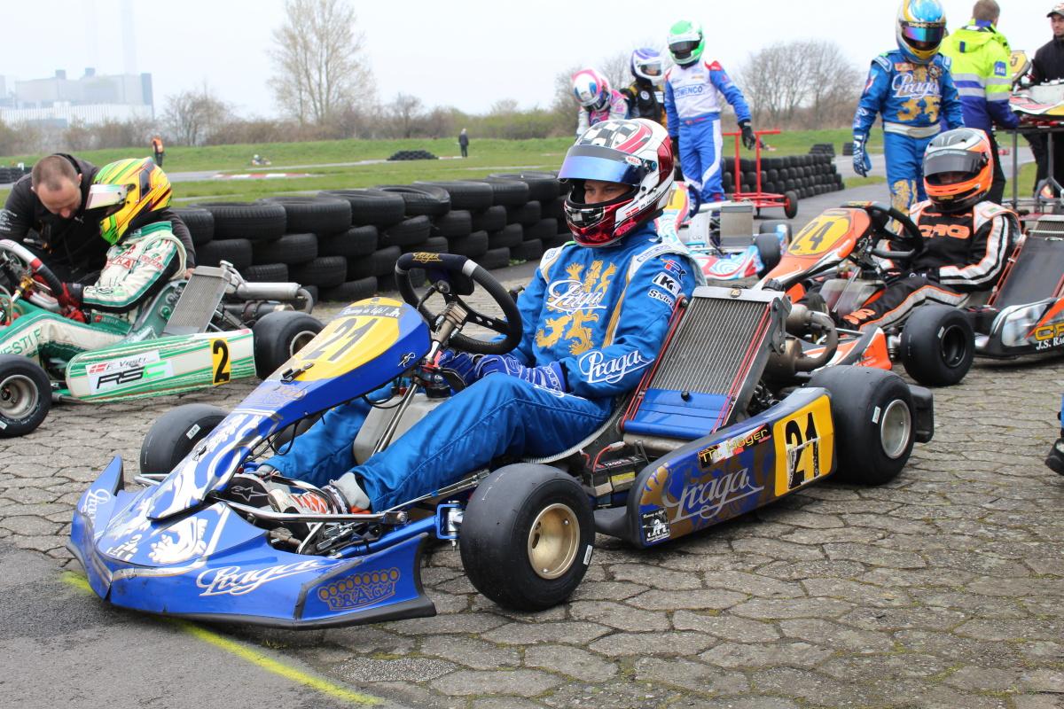Mikkel Höyer is the new driver of Praga factory team
