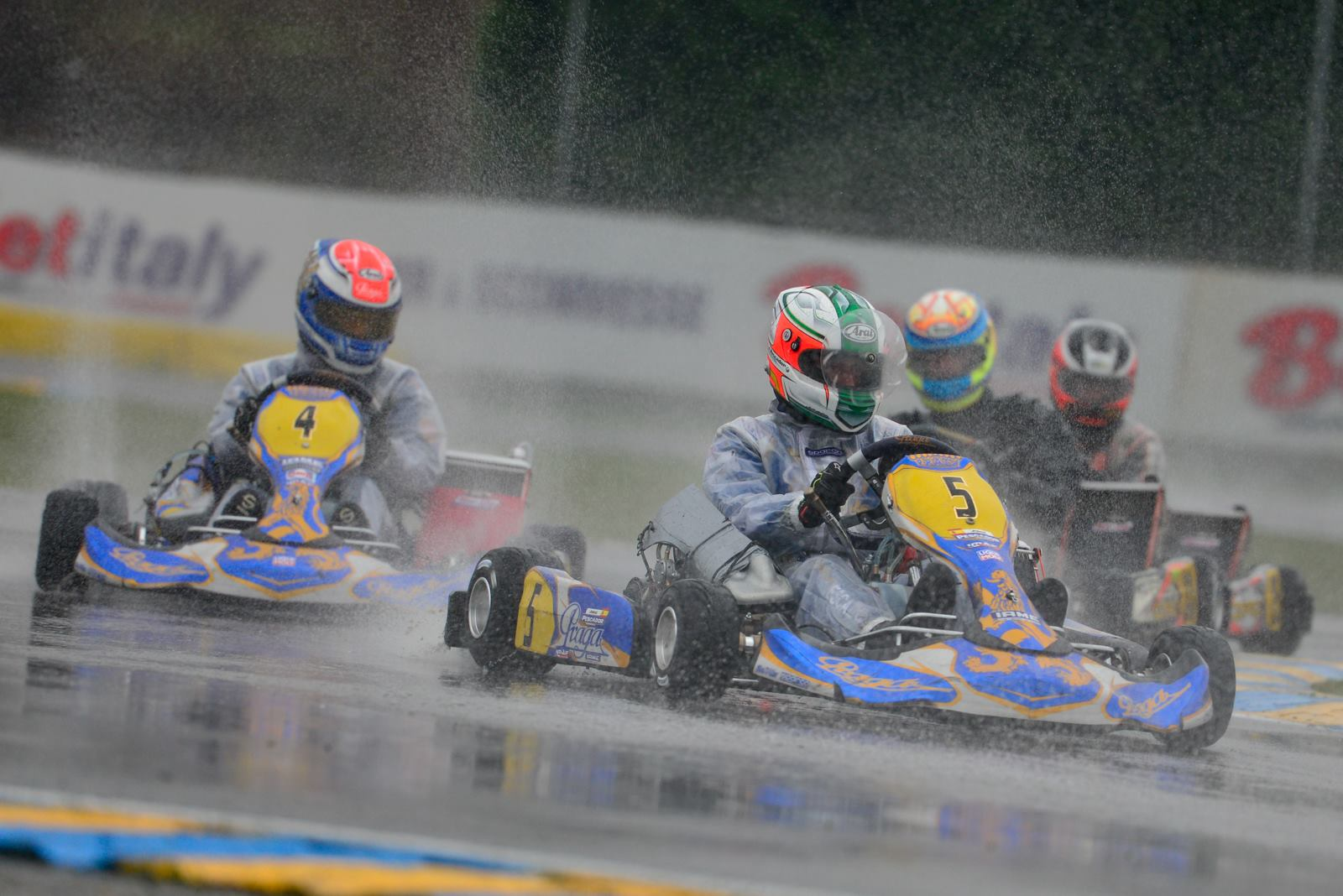 Rainy race at Castelletto - WSK Super Master series