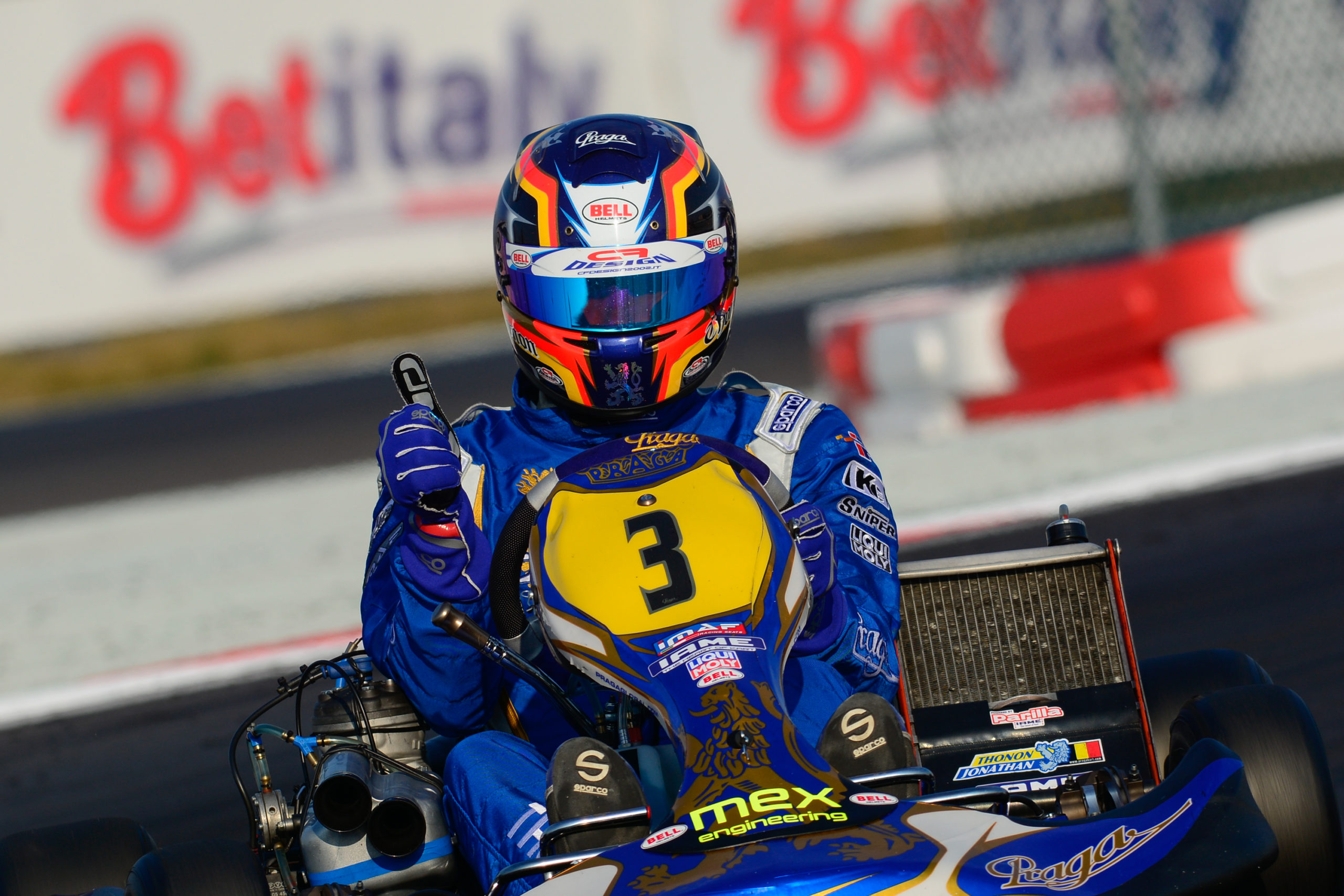 Praga factory team started the season with the podium finish