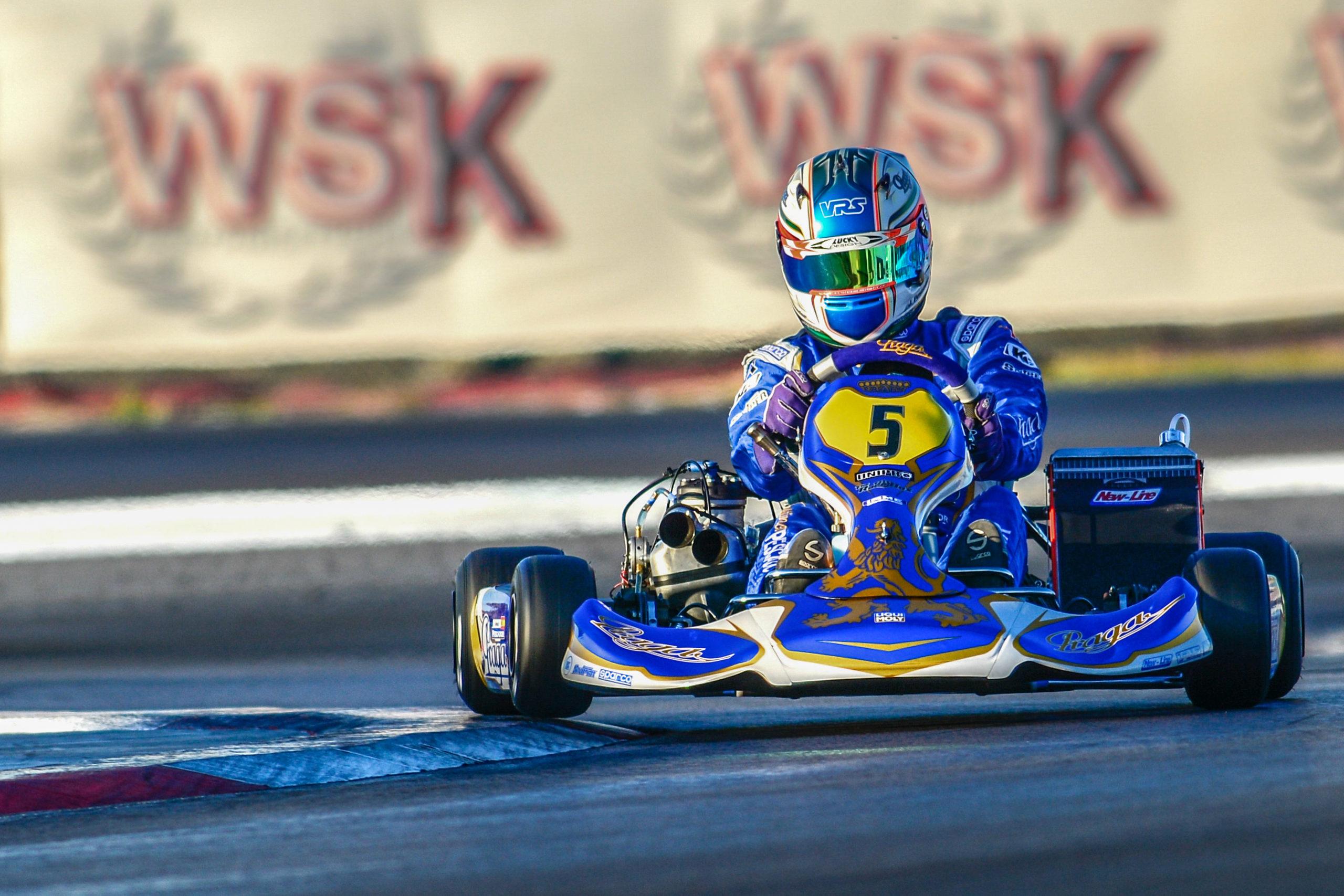 Praga on the podium again! WSK Master series - Adria