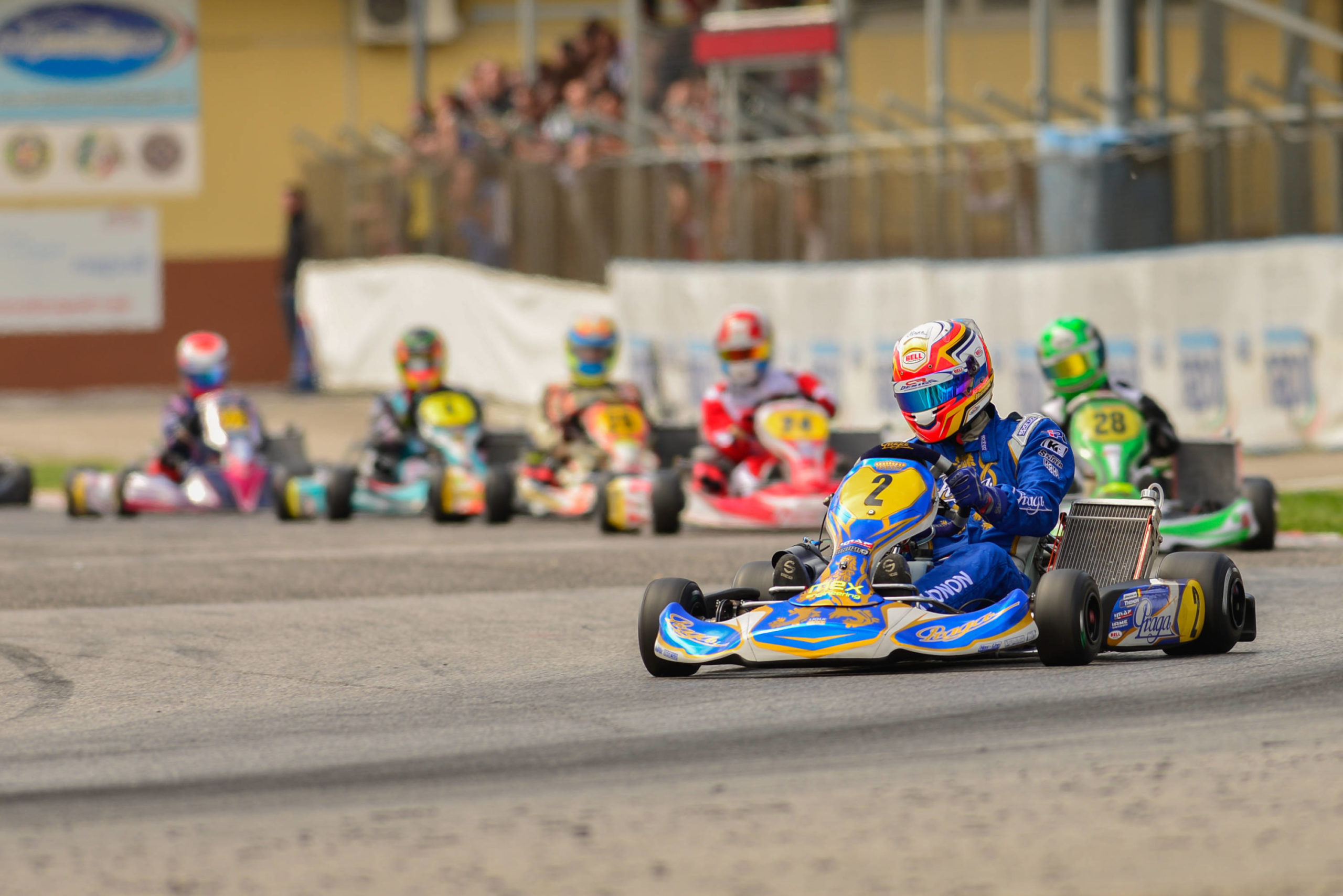 RMCGF 2015 :  PRAGA,  partner in Rotax 125 Junior MAX category
