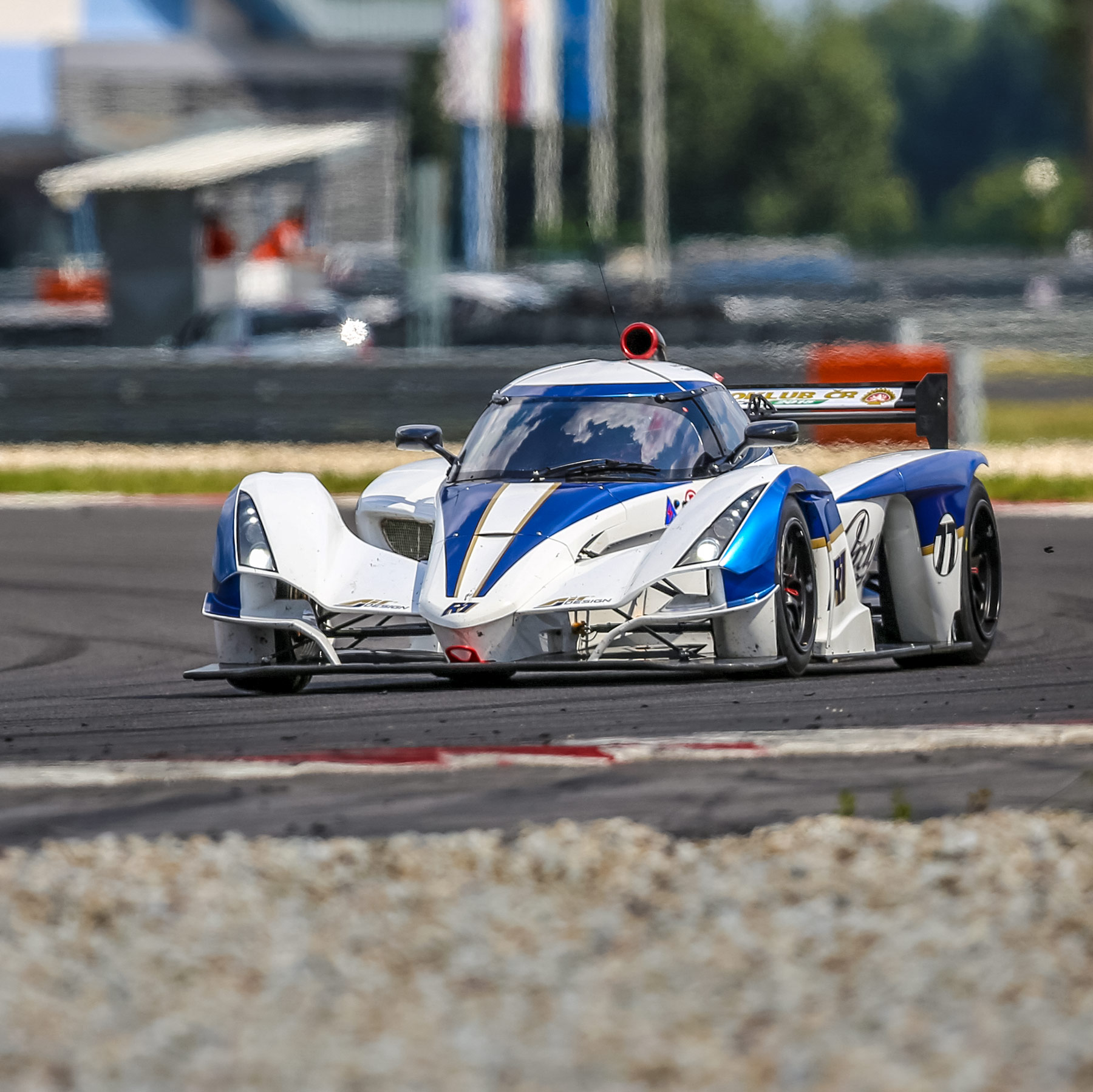 Praga reaches the 6th place in sprint race at Slovakiaring and 3rd place in endurance