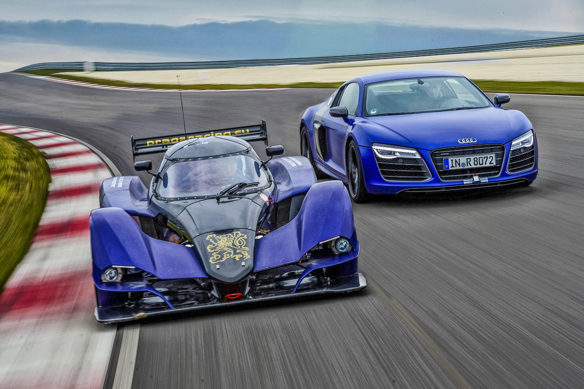 A track test comparison proves power isn't everything with a sports car
