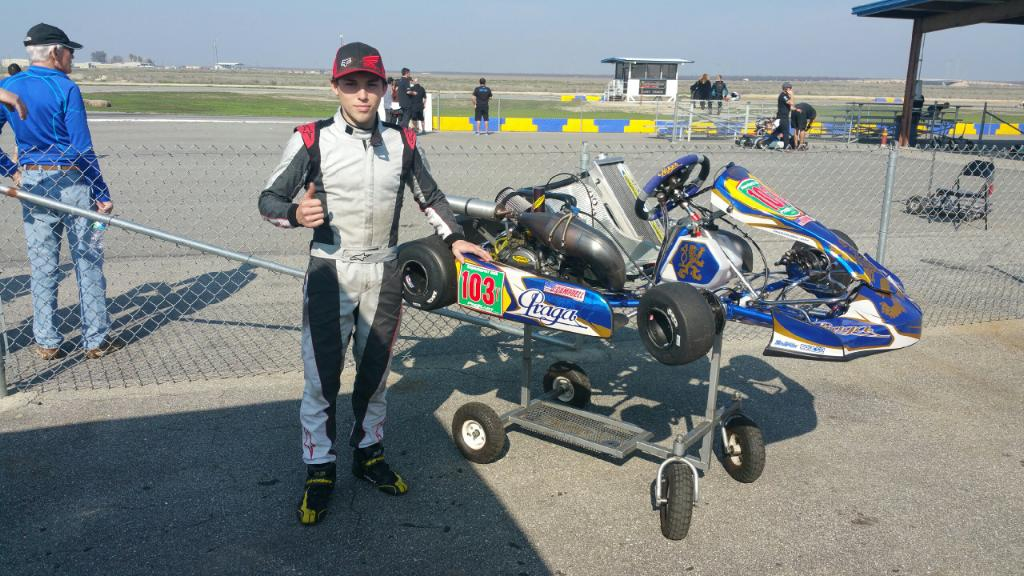 Jarred Campbell teams up with Praga for 2015 race season