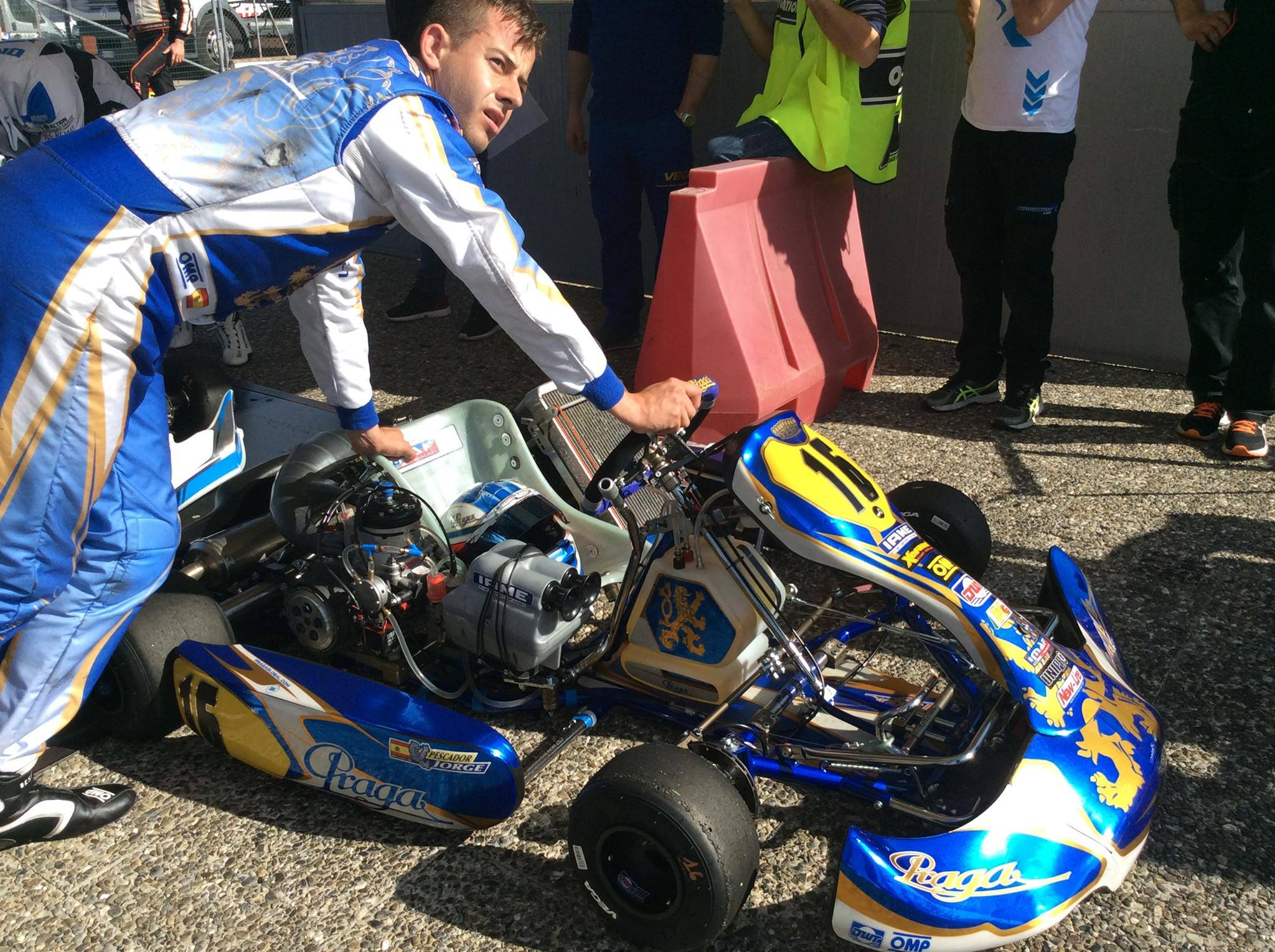 WSK Super Master Series Round 3 at La Conca