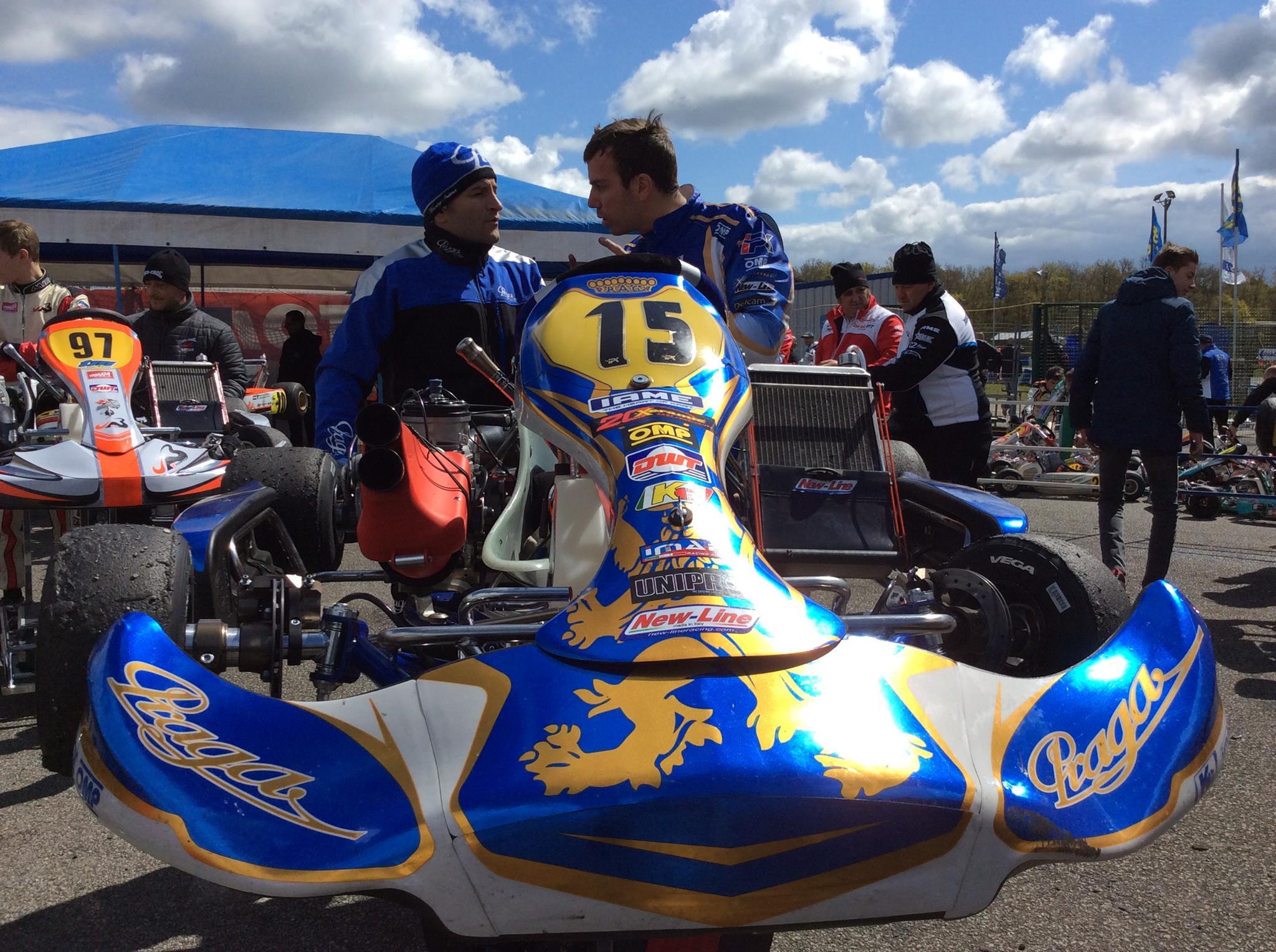 CIK-FIA European KZ & KZ2 Championship Round 1 at Essay, France