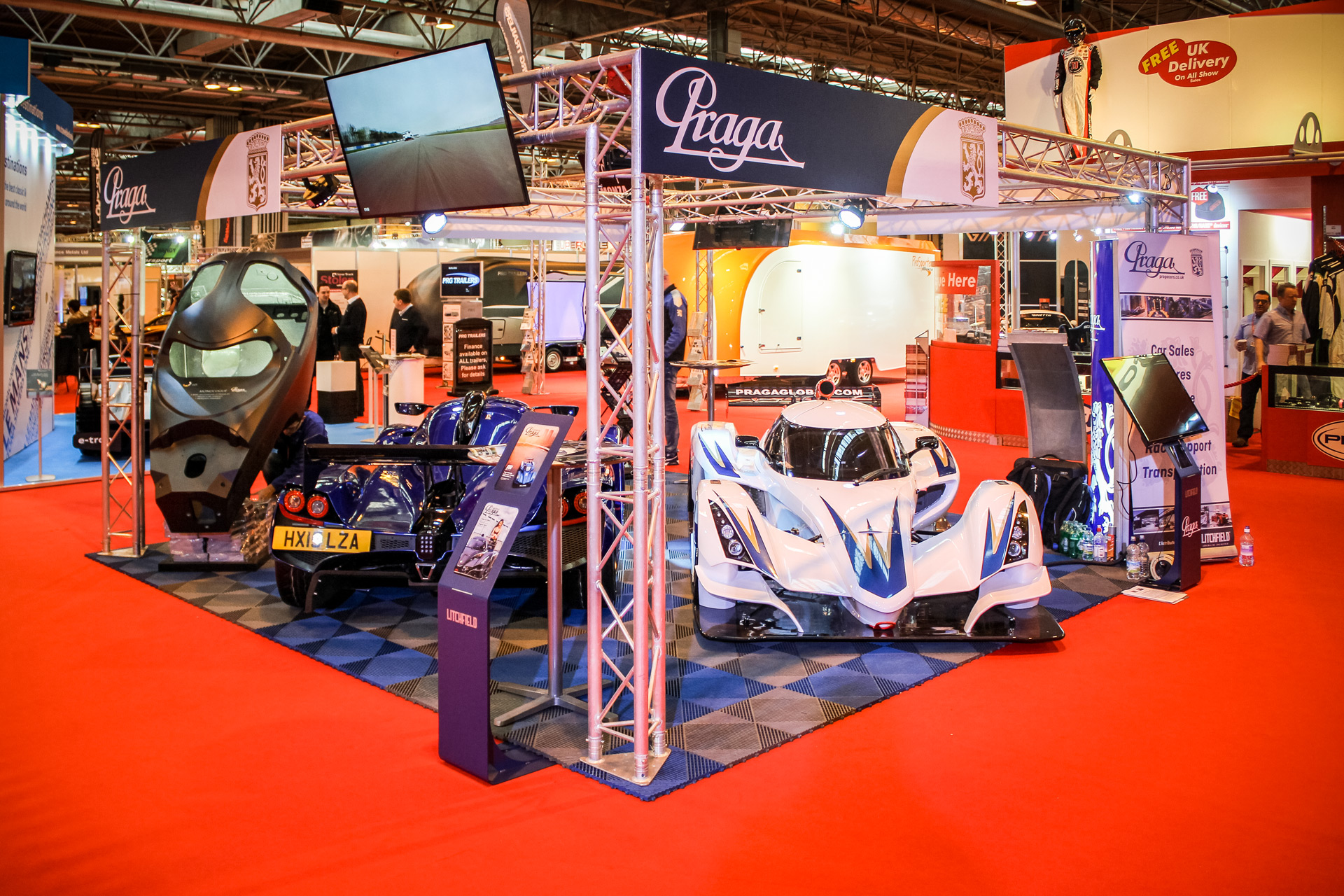 Praga Cars gathered crowds at Autosport show
