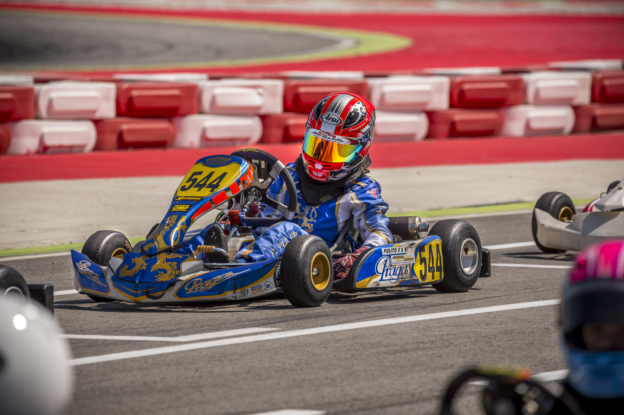 4th position at WSK Super Master Series Round 4