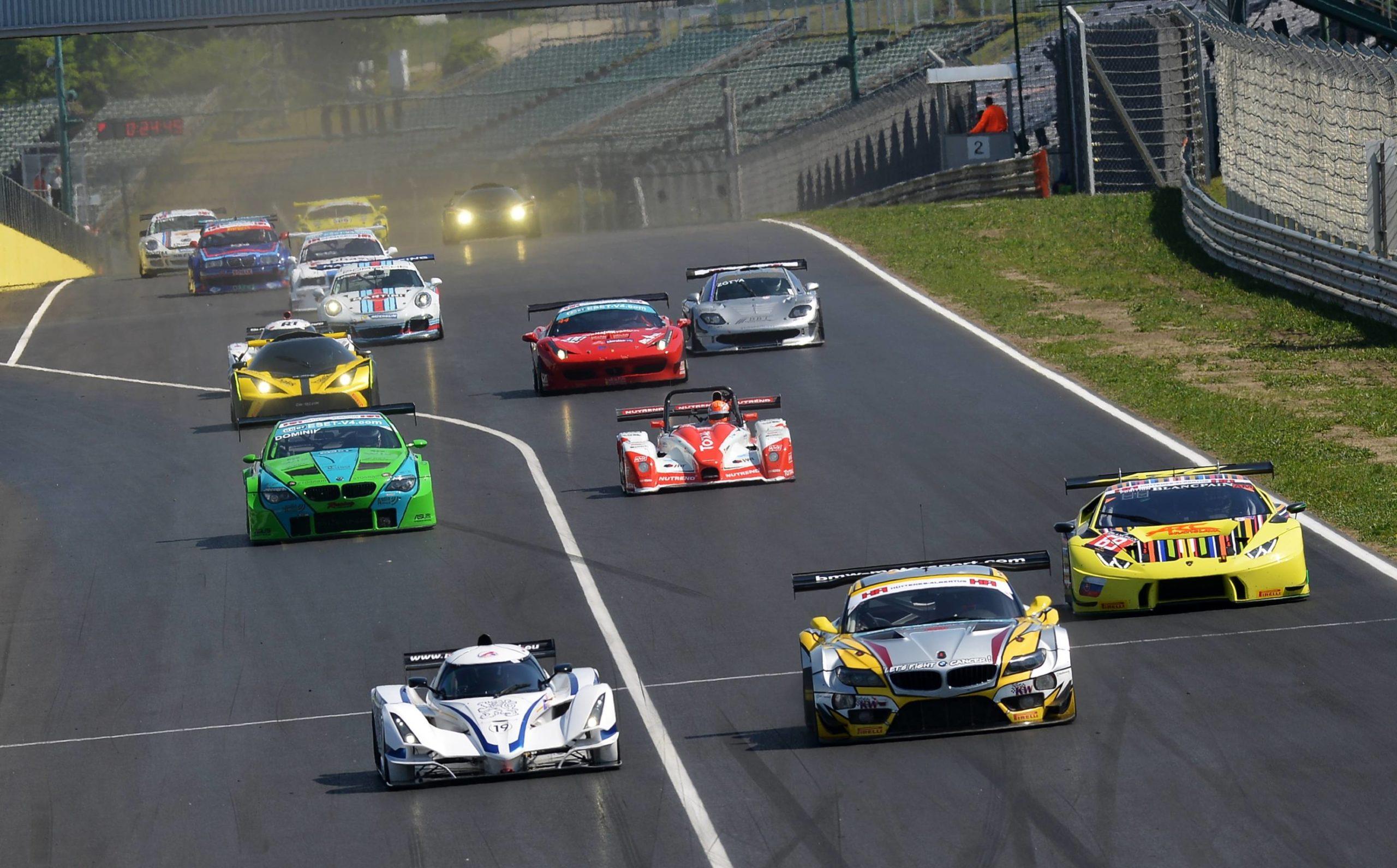 Beginning of the season at Hungaroring