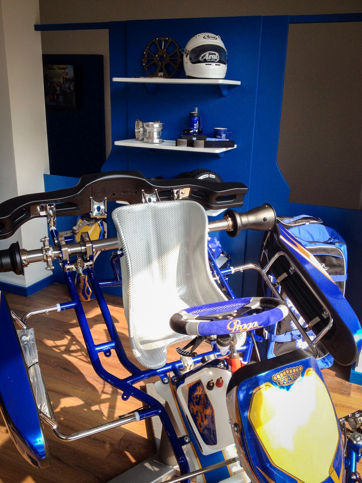 Visit a new Praga dealer by the Monza track in Italy