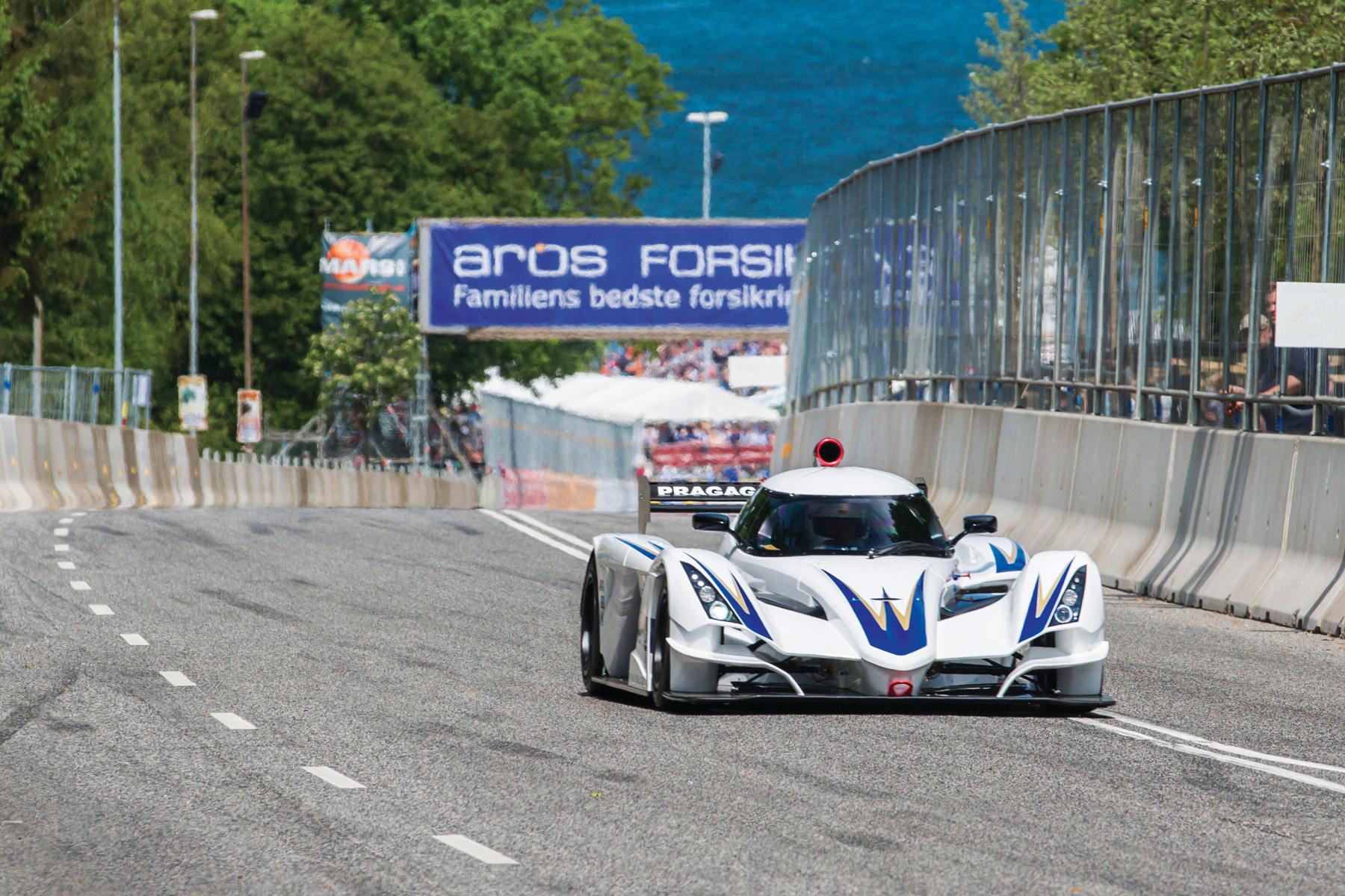 Classic Car  Race Aarhus in Denmark